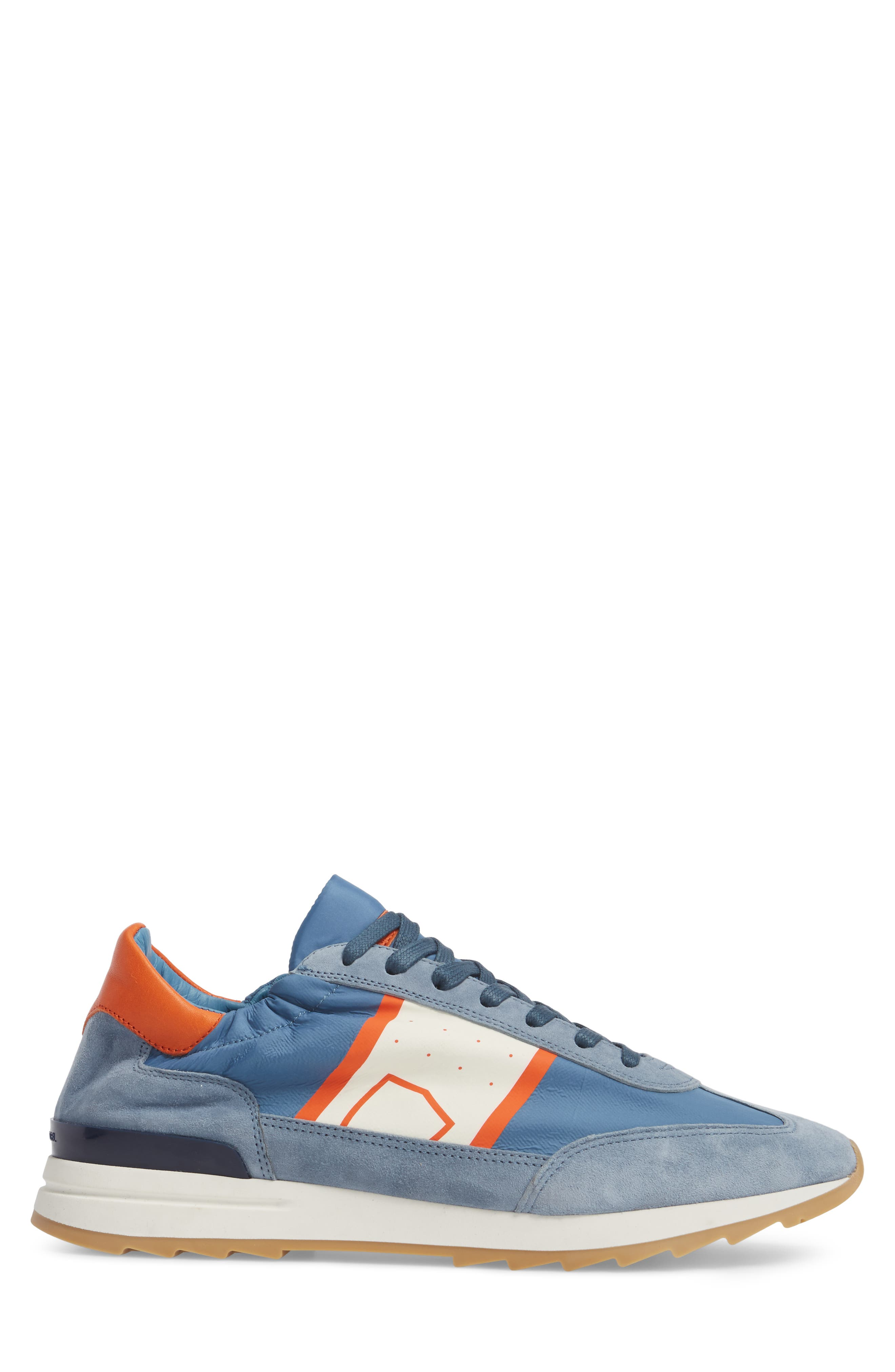 Toujours Sneaker,                             Alternate thumbnail 3, color,                             Blue/ White