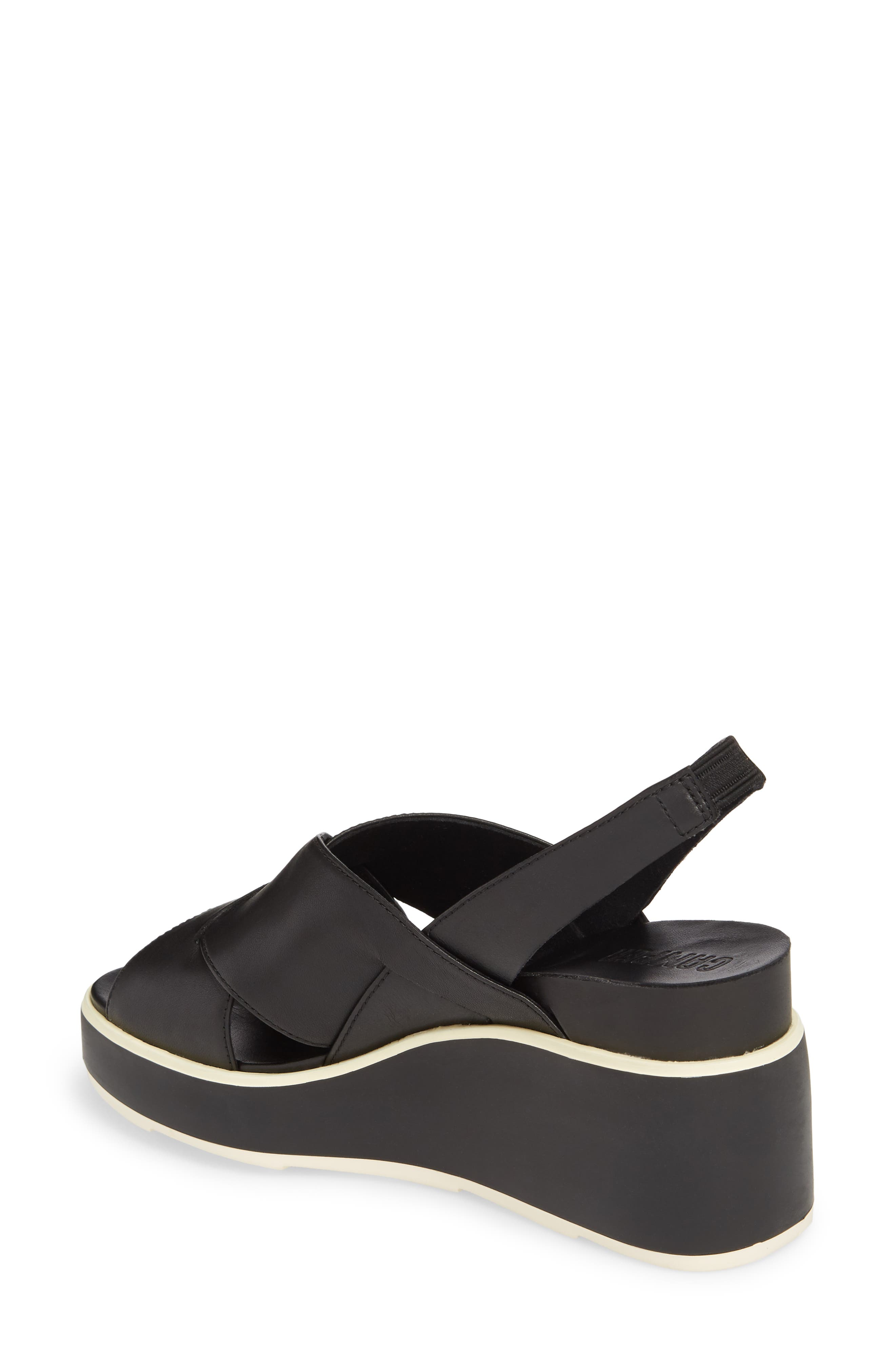 Alternate Image 2  - Camper Tropik Cross Strap Wedge Sandal (Women)