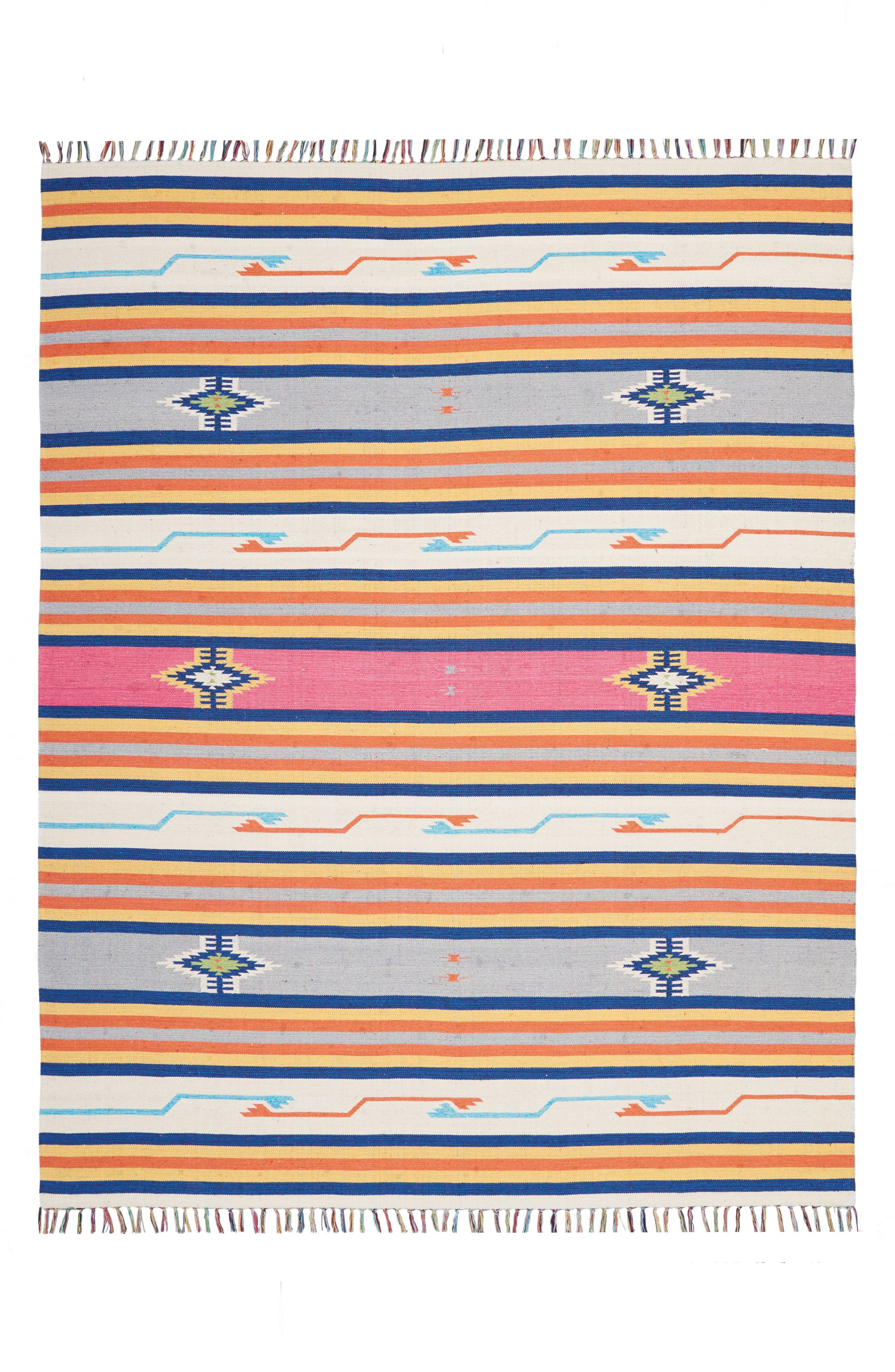 Baja Rug,                             Main thumbnail 1, color,                             Ivory