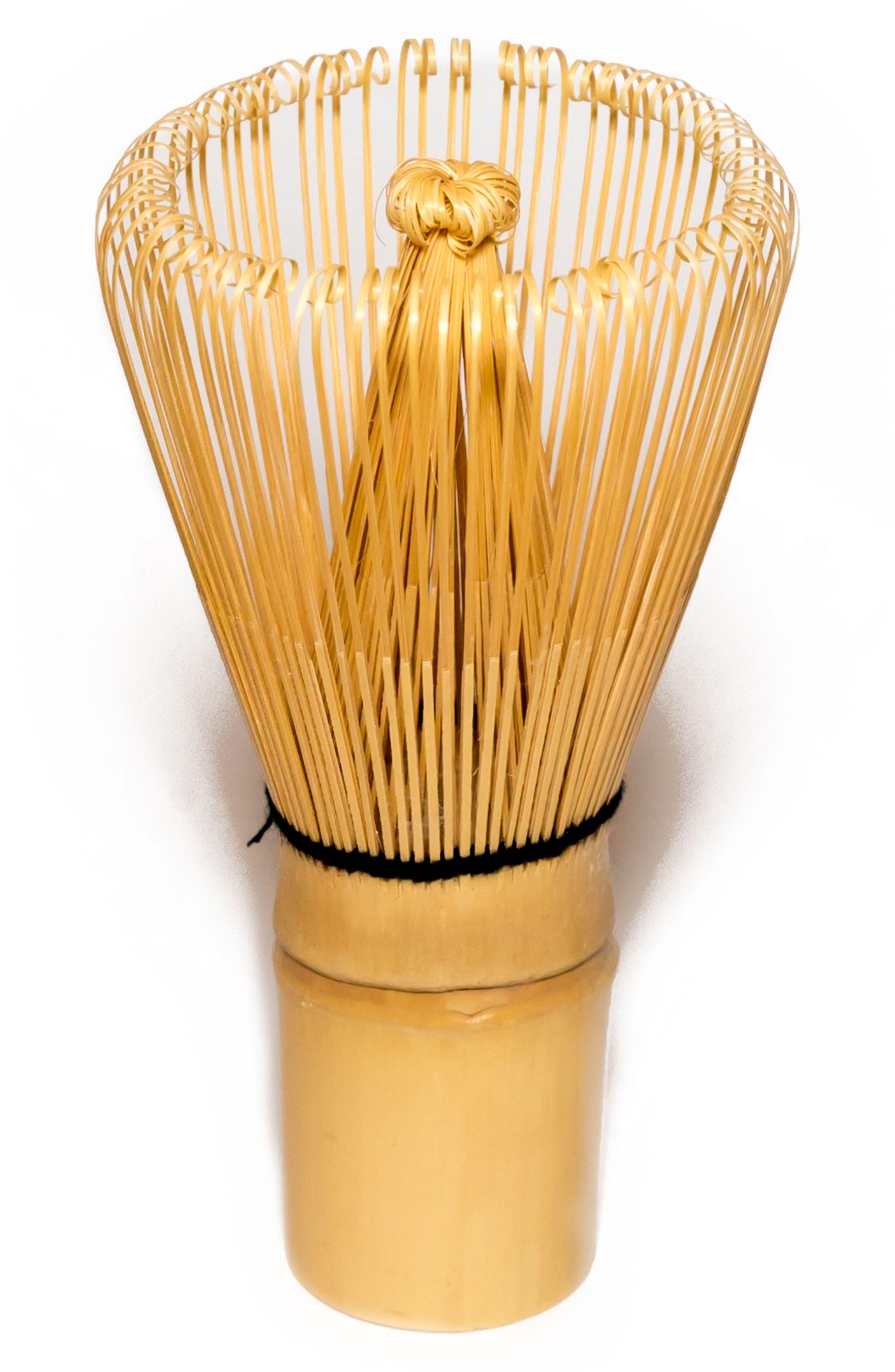 100 Prong Bamboo Matcha Whisk,                         Main,                         color, No Color