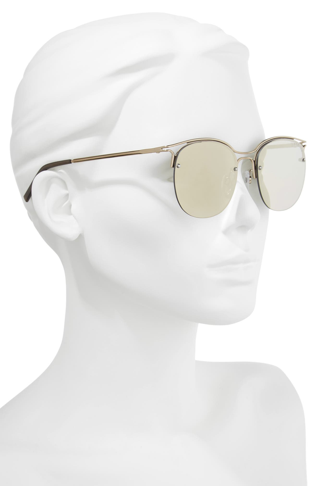 Freshwater 55m Metal Sunglasses,                             Alternate thumbnail 2, color,                             Moss