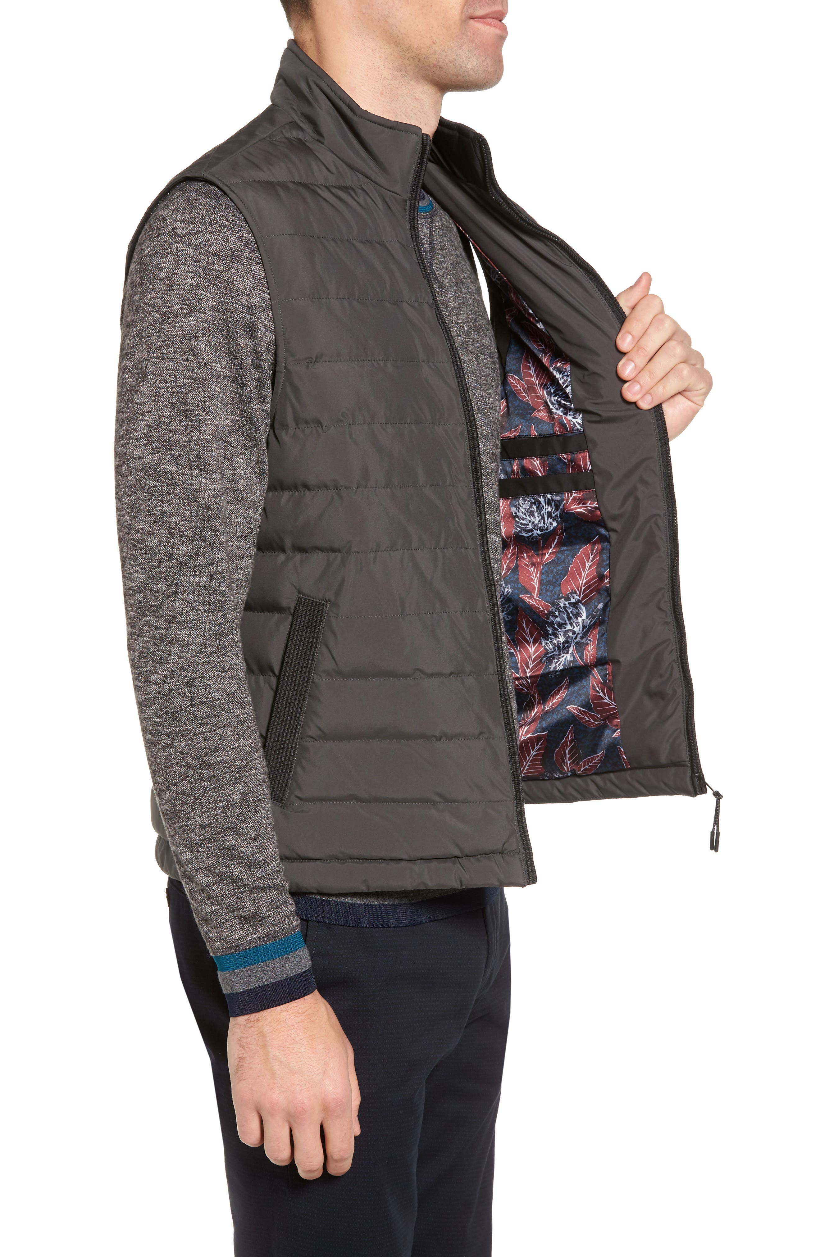 Alternate Image 3  - Ted Baker London Jozeph Quilted Down Vest