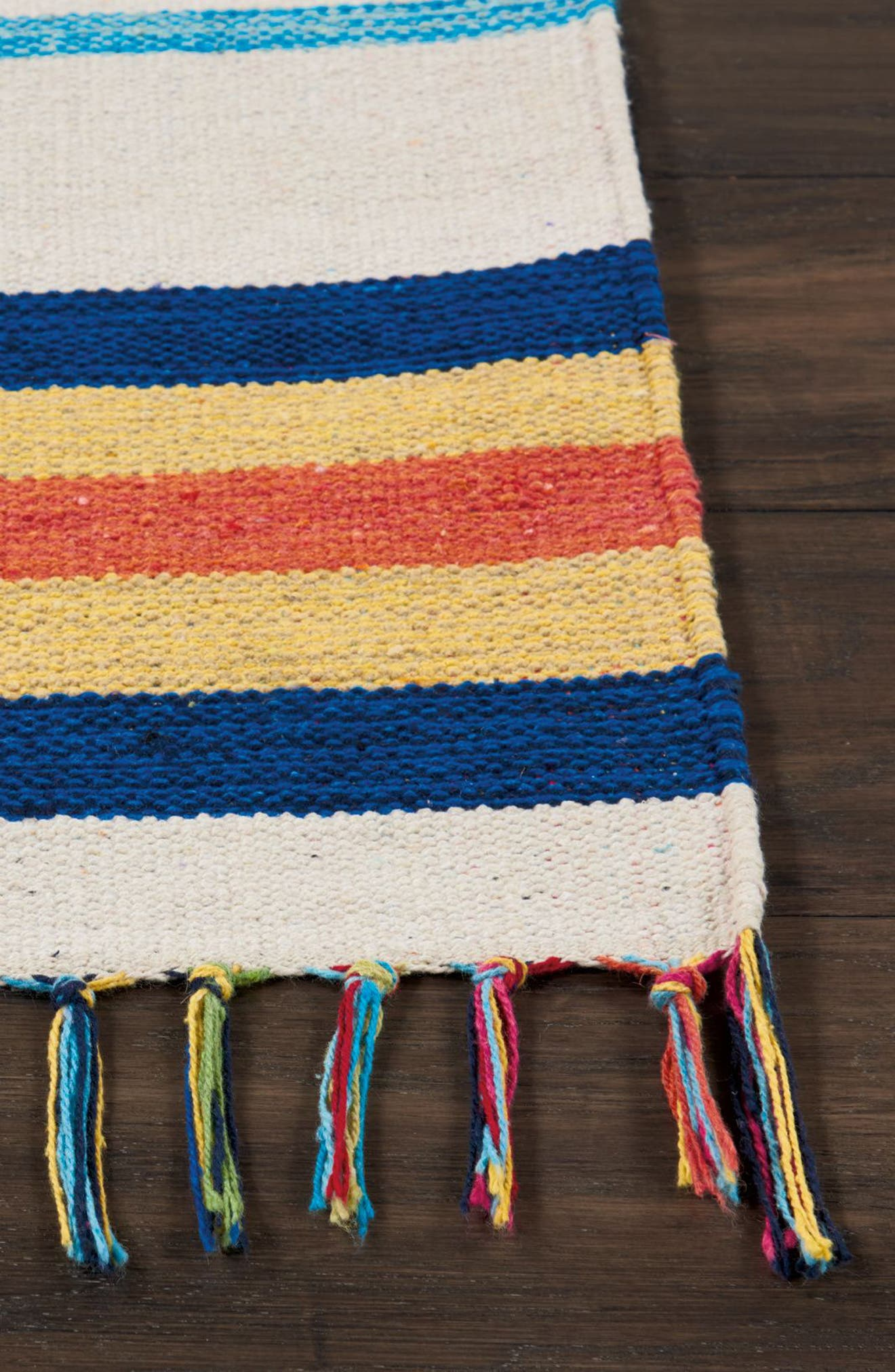Baja Rug,                             Alternate thumbnail 3, color,                             Ivory