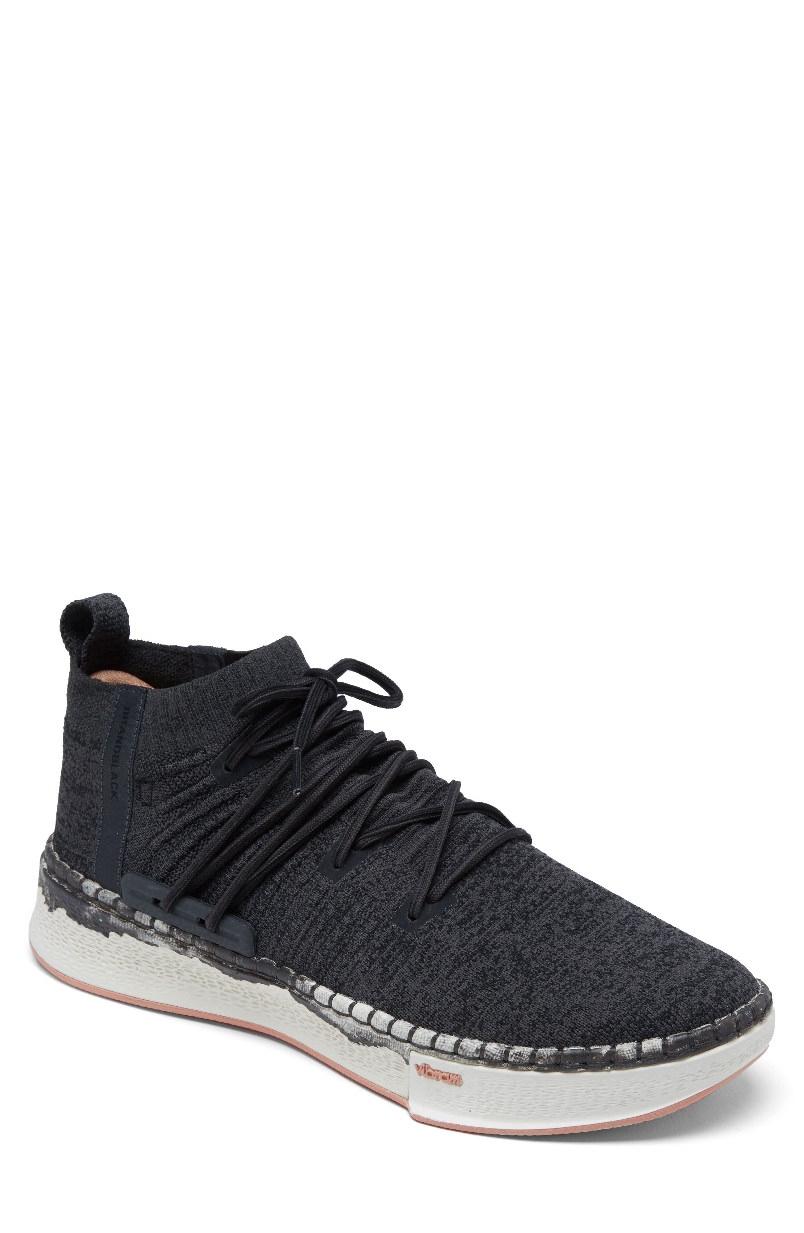Delta Shibori Sneaker,                             Main thumbnail 1, color,                             Black