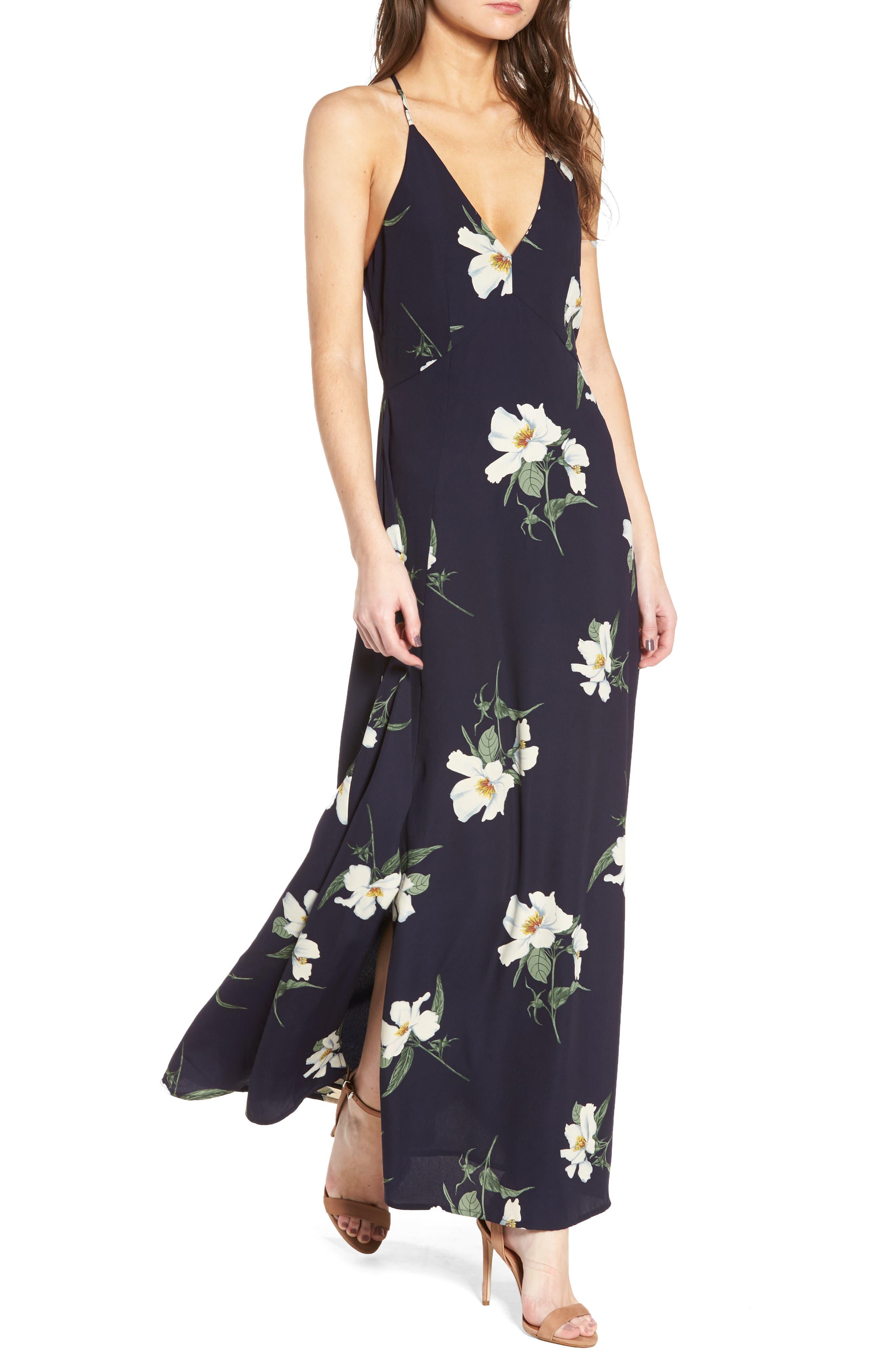 STOREE Floral Maxi Dress
