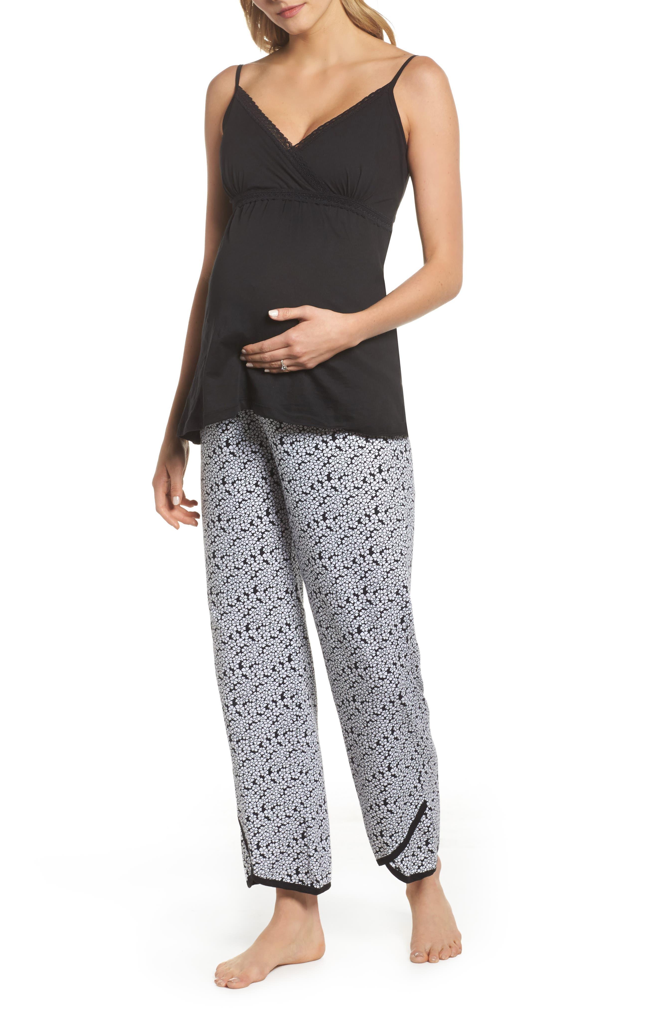 Belabumbum Kyoto Pima Cotton Maternity Pajamas