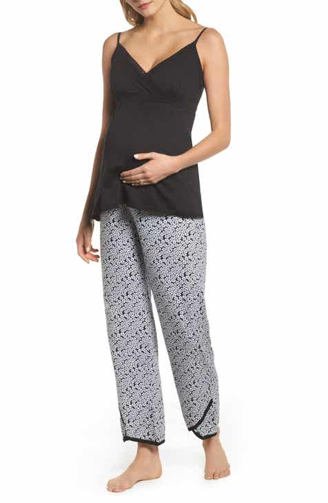 fe401125a1af Belabumbum Kyoto Pima Cotton Maternity Pajamas