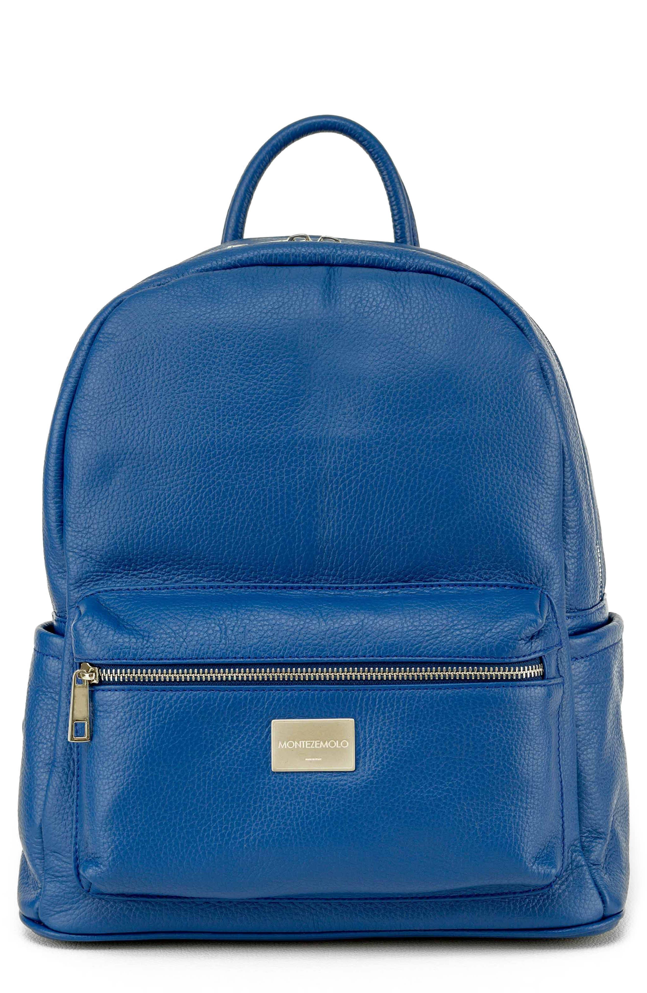 Main Image - MONTEZEMOLO Leather Backpack