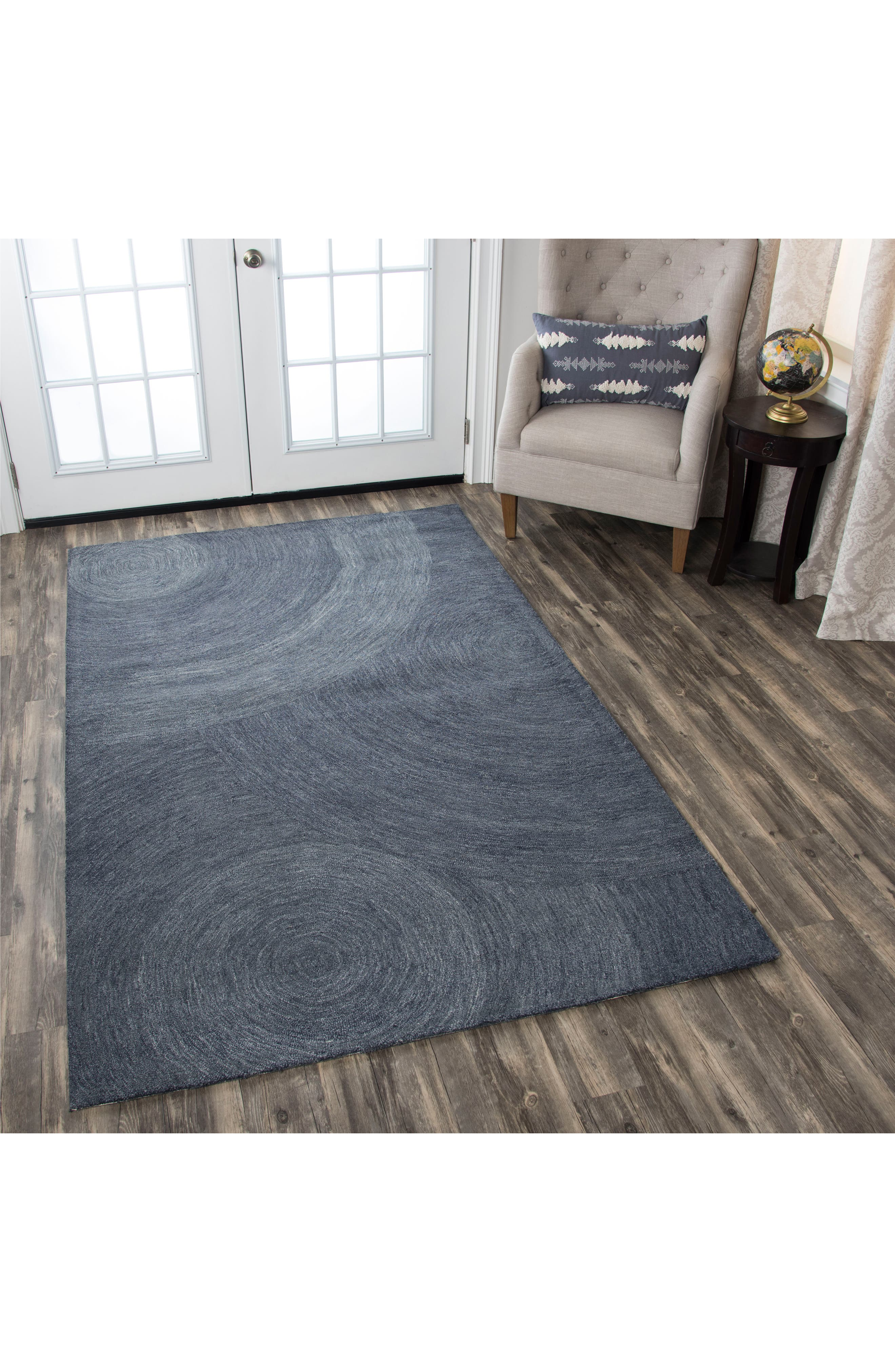 Alternate Image 3  - Rizzy Home Brindleton Collection Swirl Rug