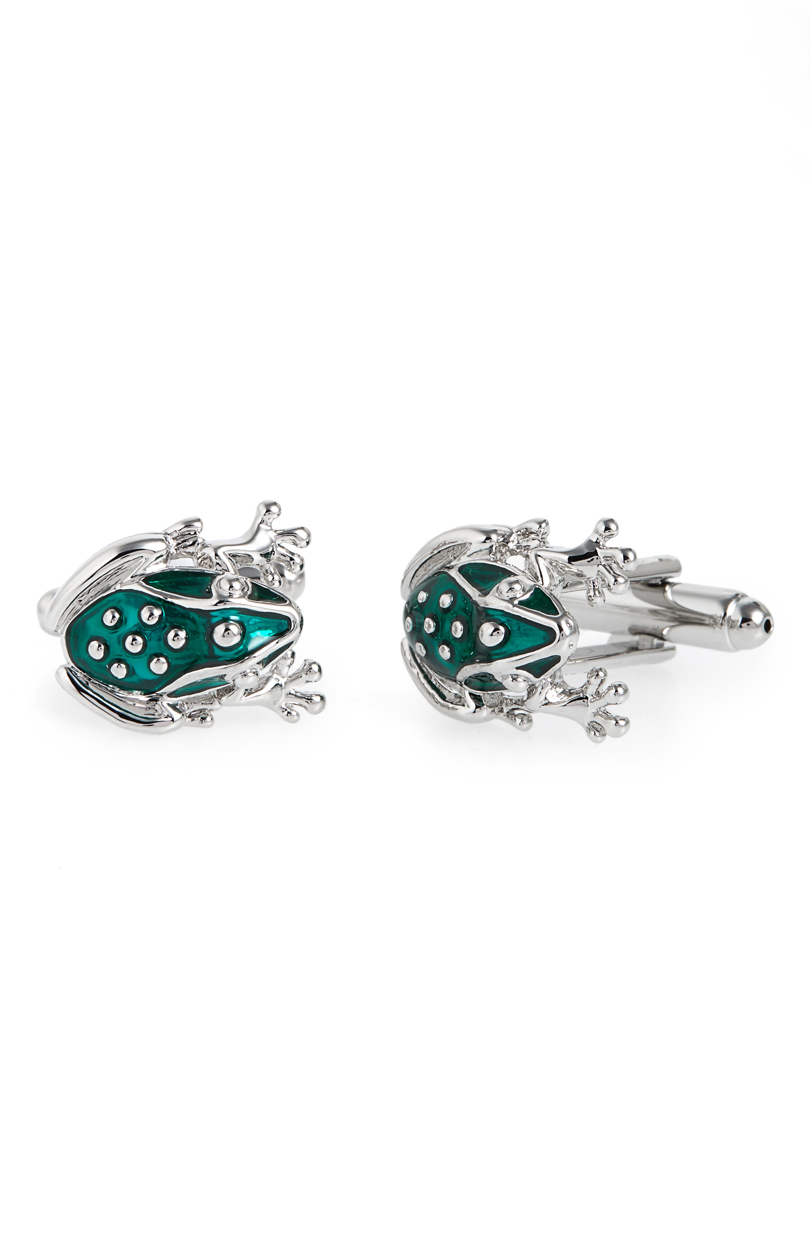 Link Up Frog Cuff Links