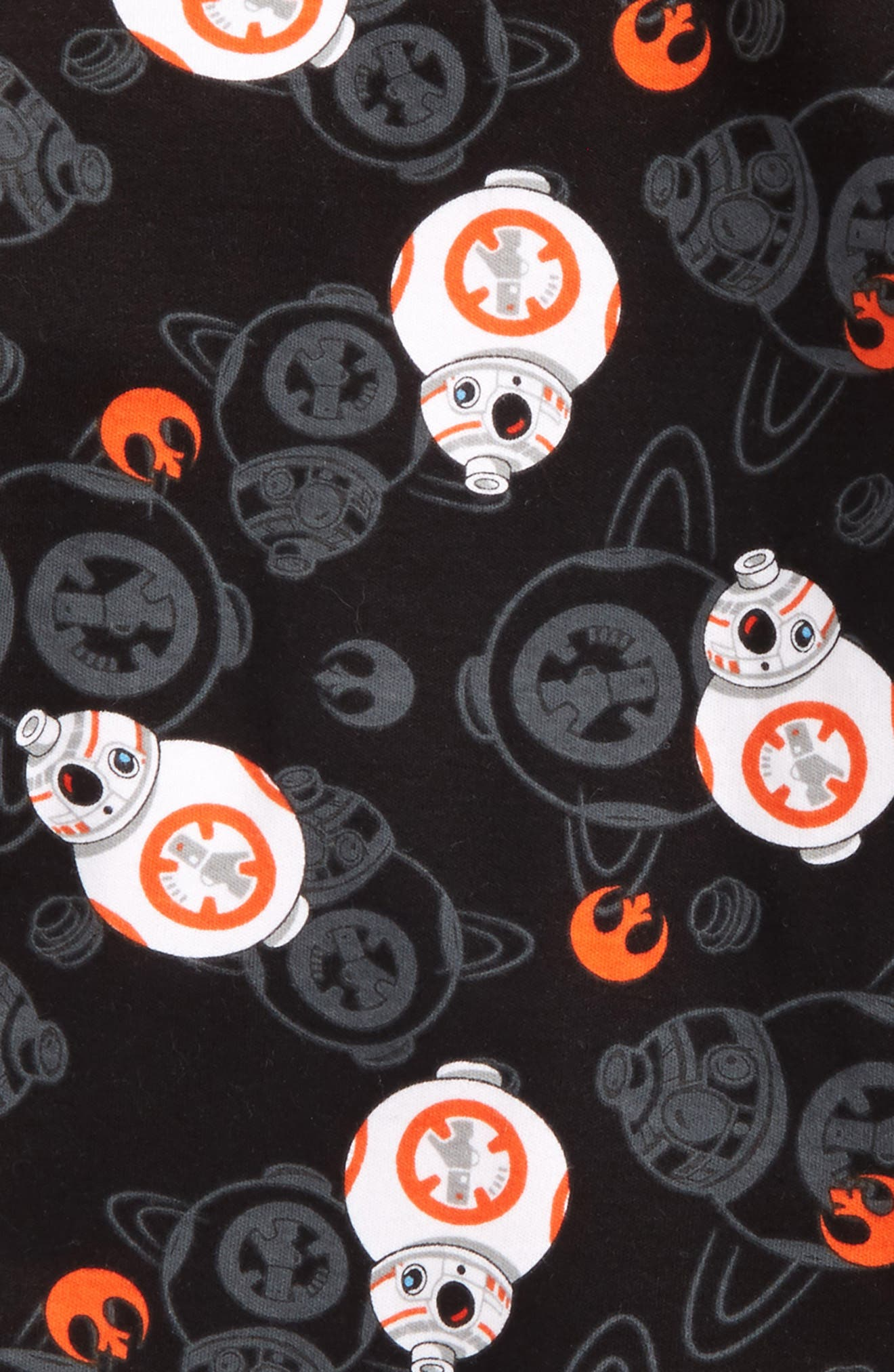 Alternate Image 2  - Lego Star Wars™ BB-8 Fitted Two-Piece Cotton Pajama Set (Little Boys & Big Boys)