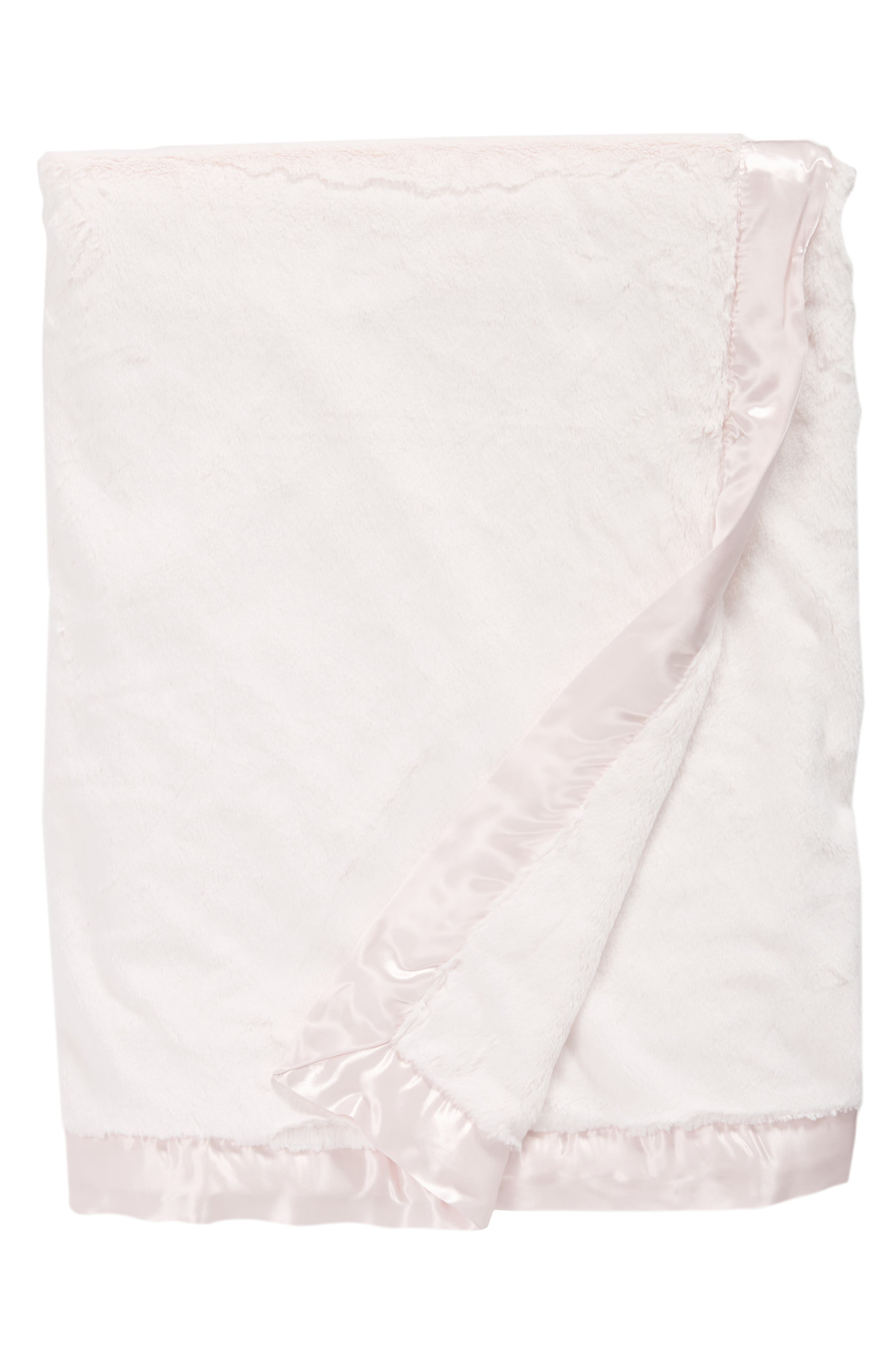 Luxe<sup>™</sup> Solid Throw,                         Main,                         color, Pink