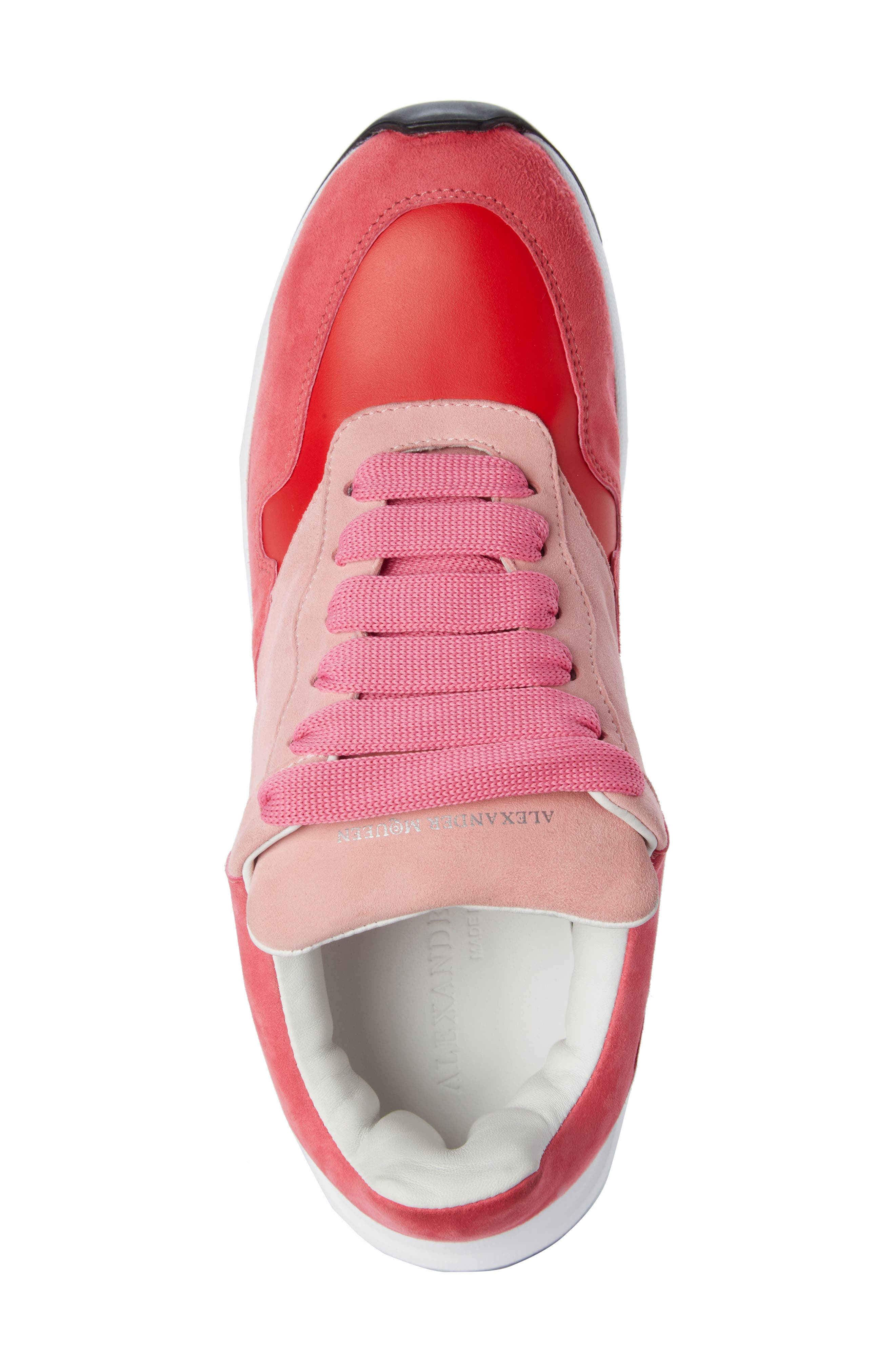 Alternate Image 4  - Alexander McQueen Runner Lace-Up Sneaker (Women)