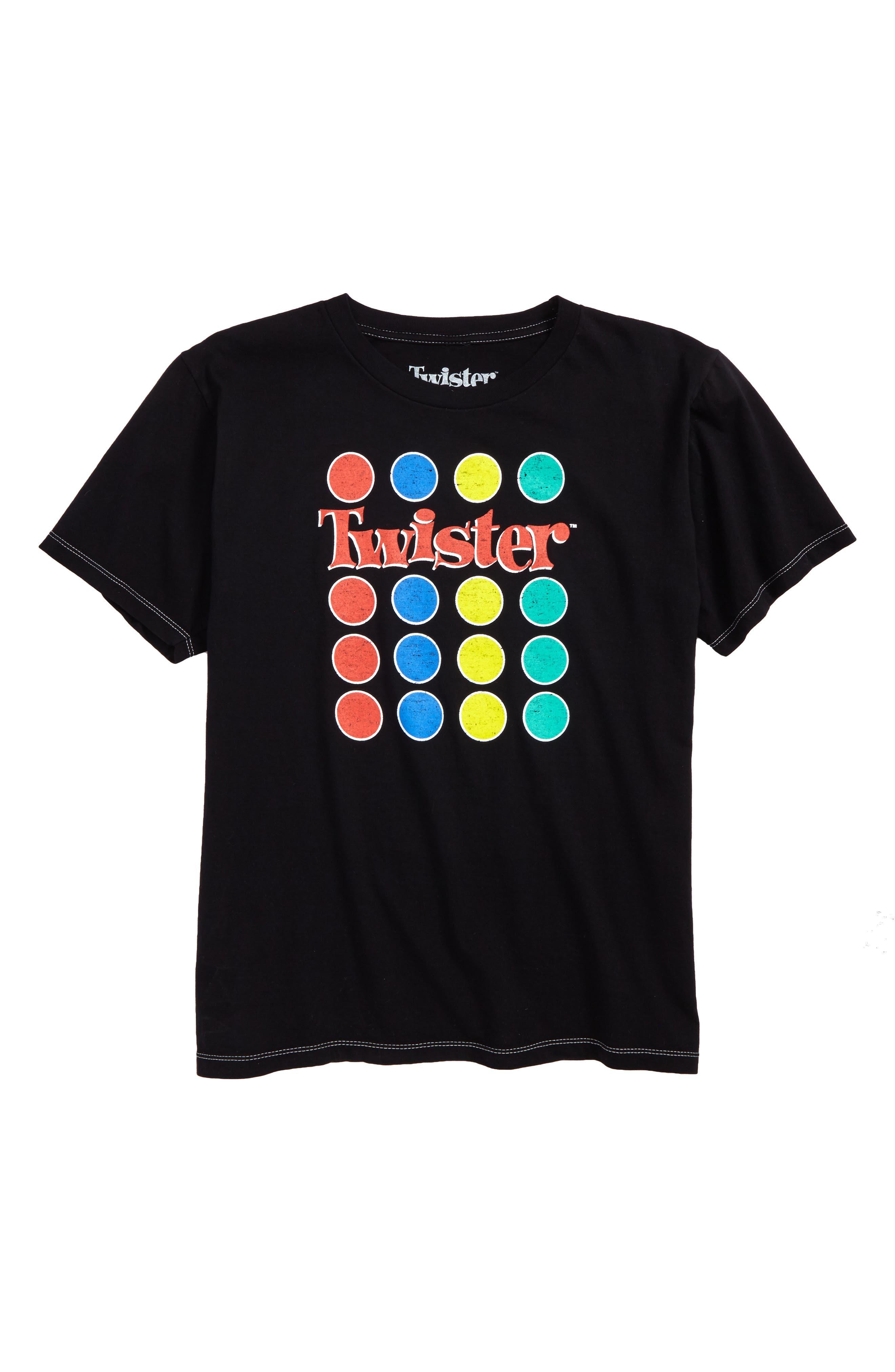 Twister Graphic T-Shirt,                         Main,                         color, Black