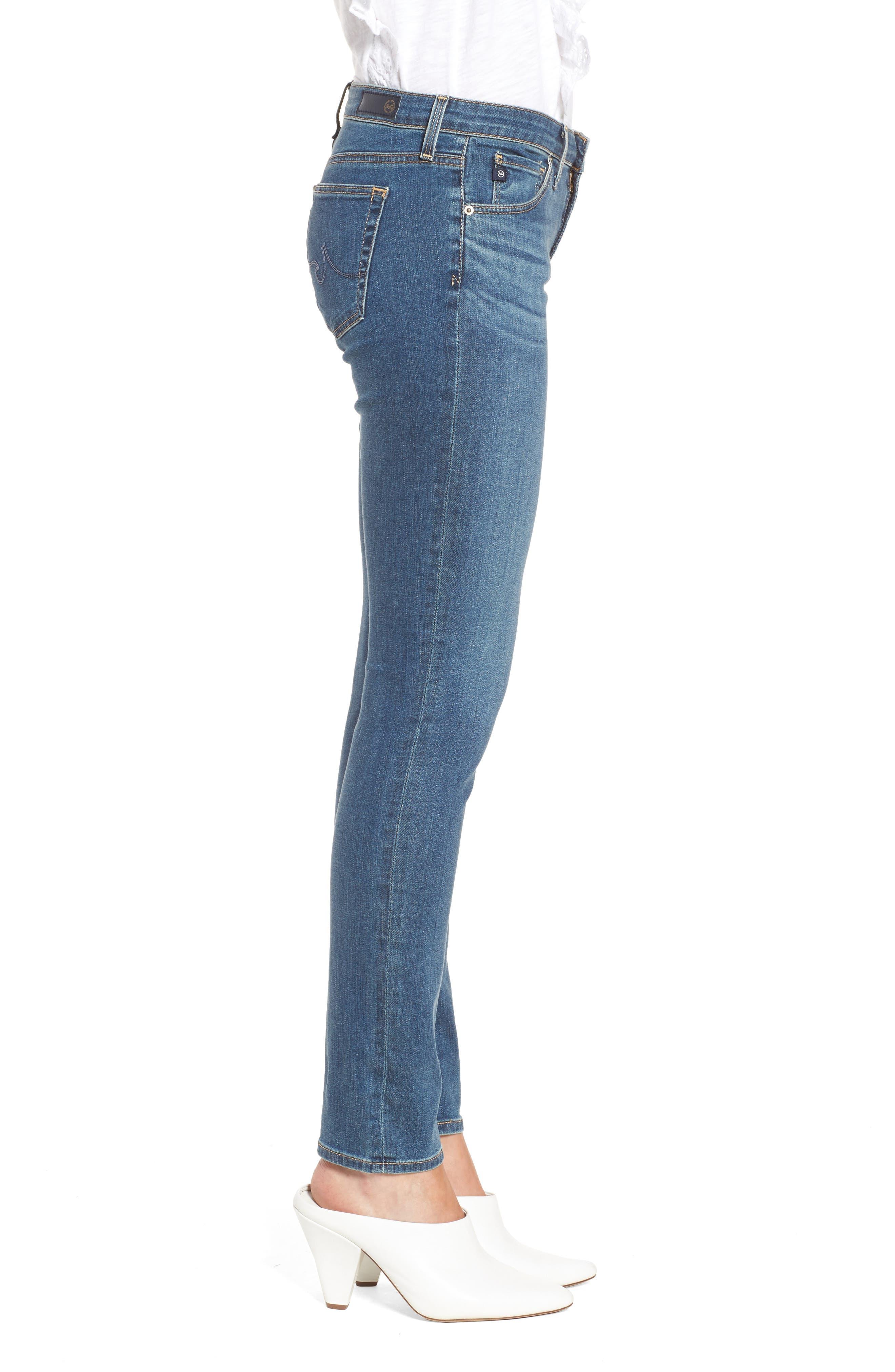 Alternate Image 3  - AG The Stilt Cigarette Leg Jeans (Serendipitous)