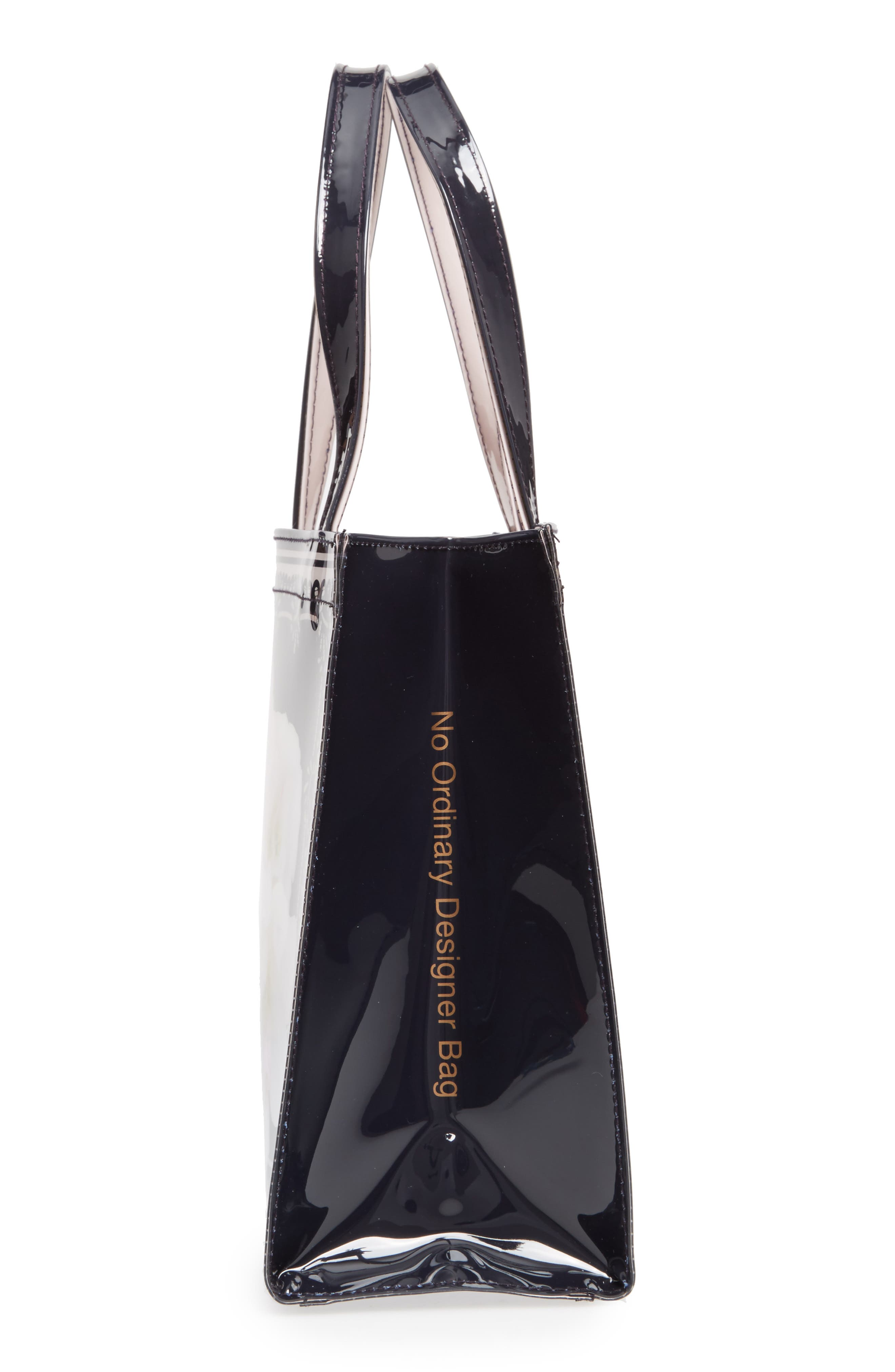 Joancon Gardenia Small Icon Tote,                             Alternate thumbnail 5, color,                             Dark Blue