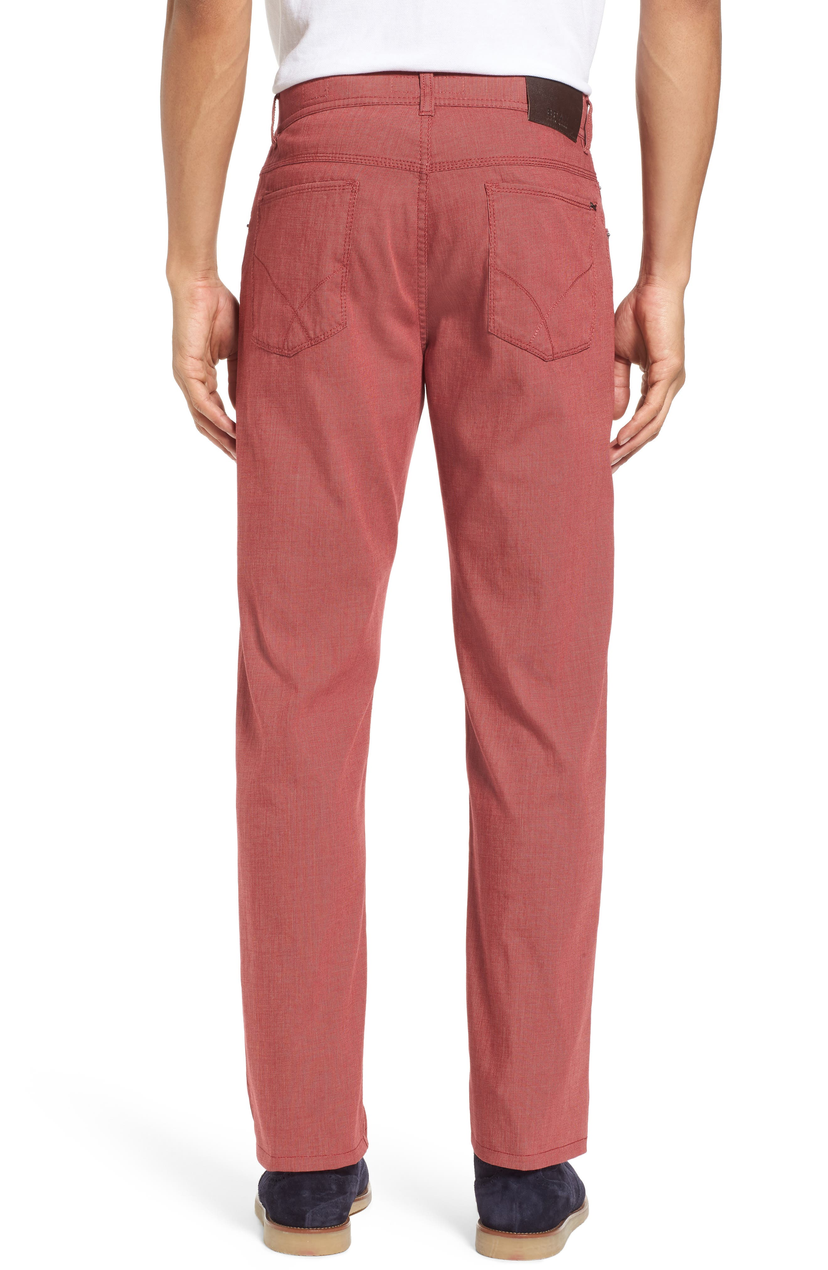 Sensation Stretch Trousers,                             Alternate thumbnail 2, color,                             Red