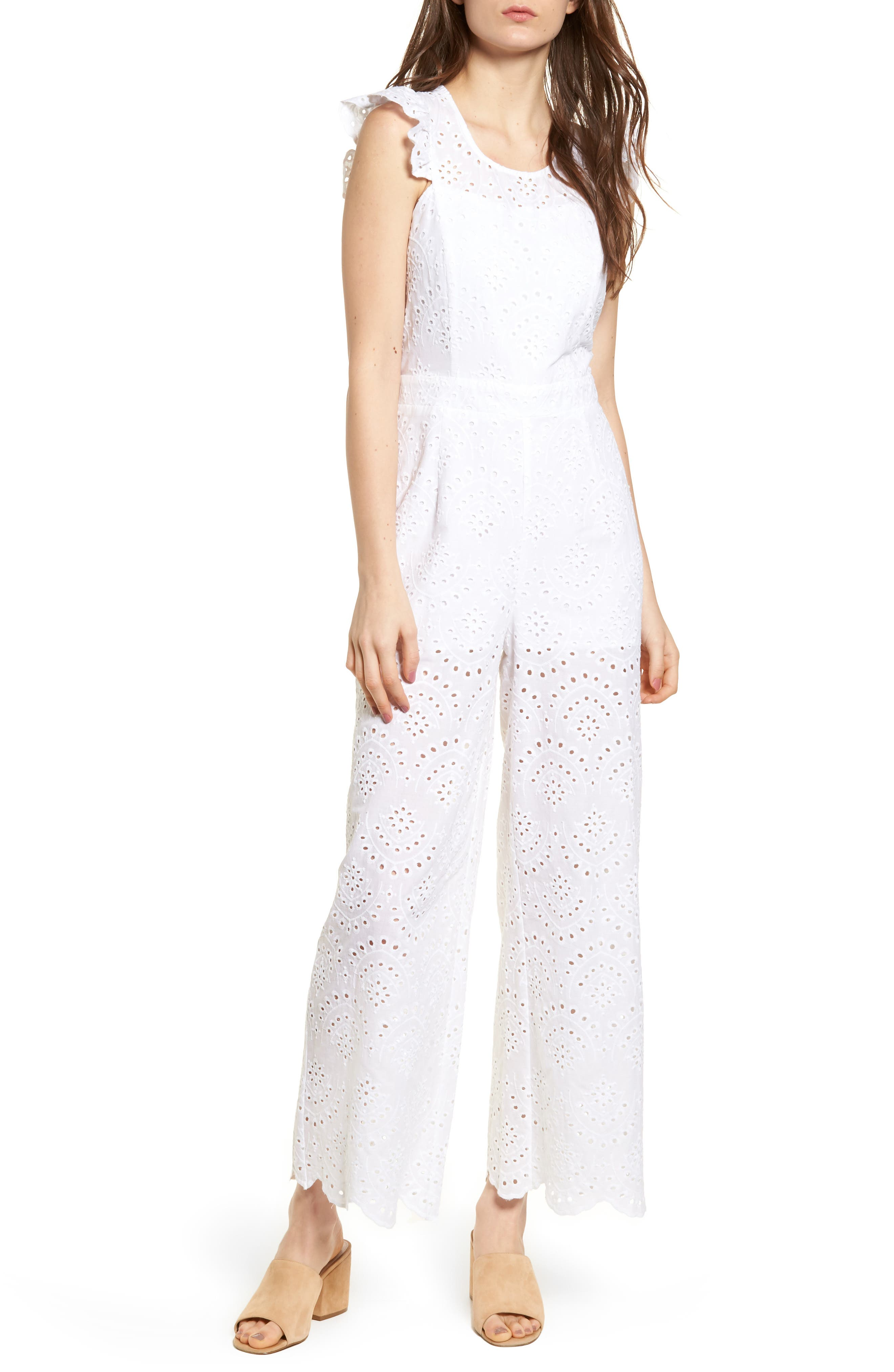 Leith Eyelet Jumpsuit