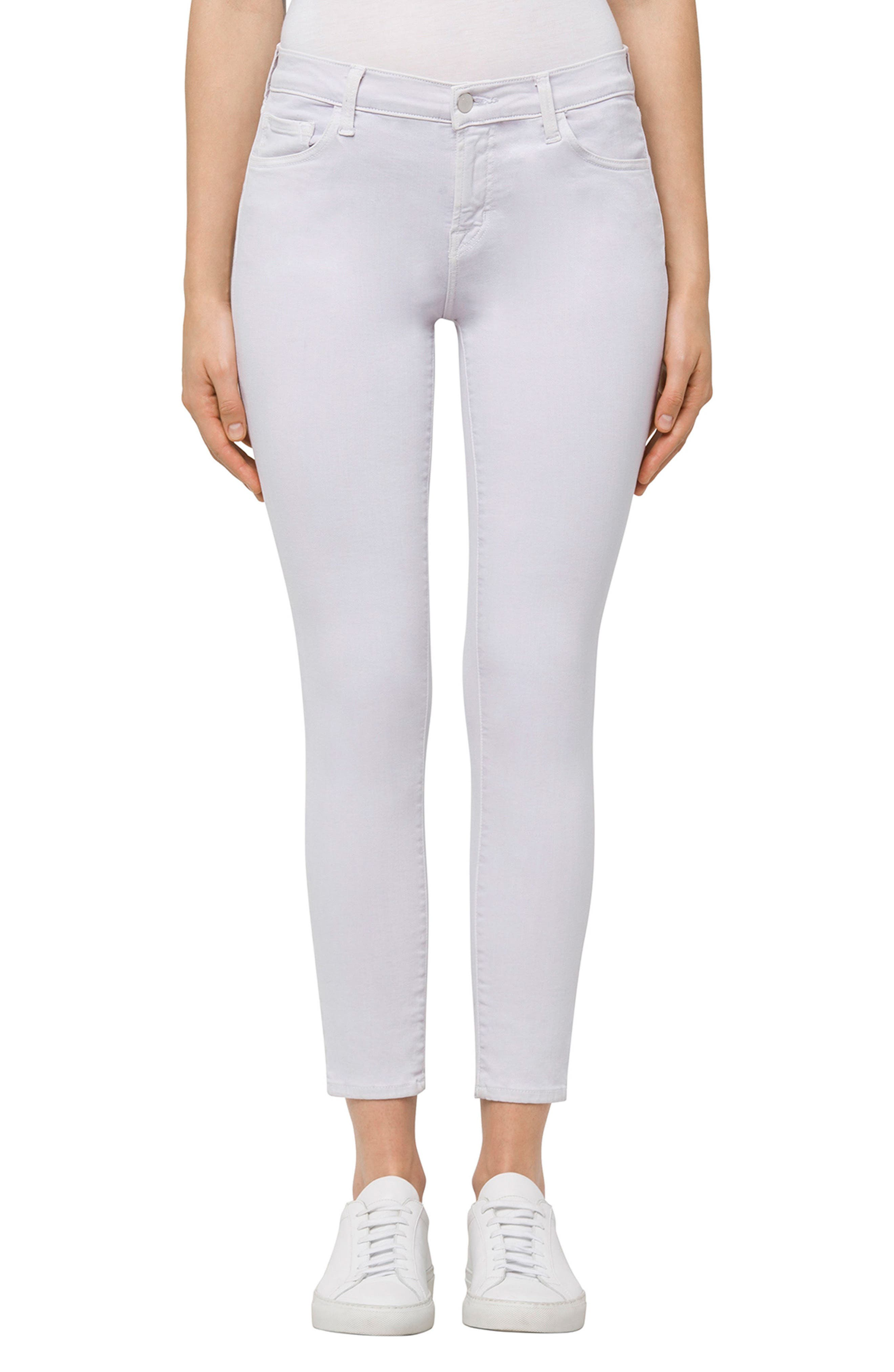 835 Capri Skinny Jeans,                         Main,                         color, Frosted Amethyst