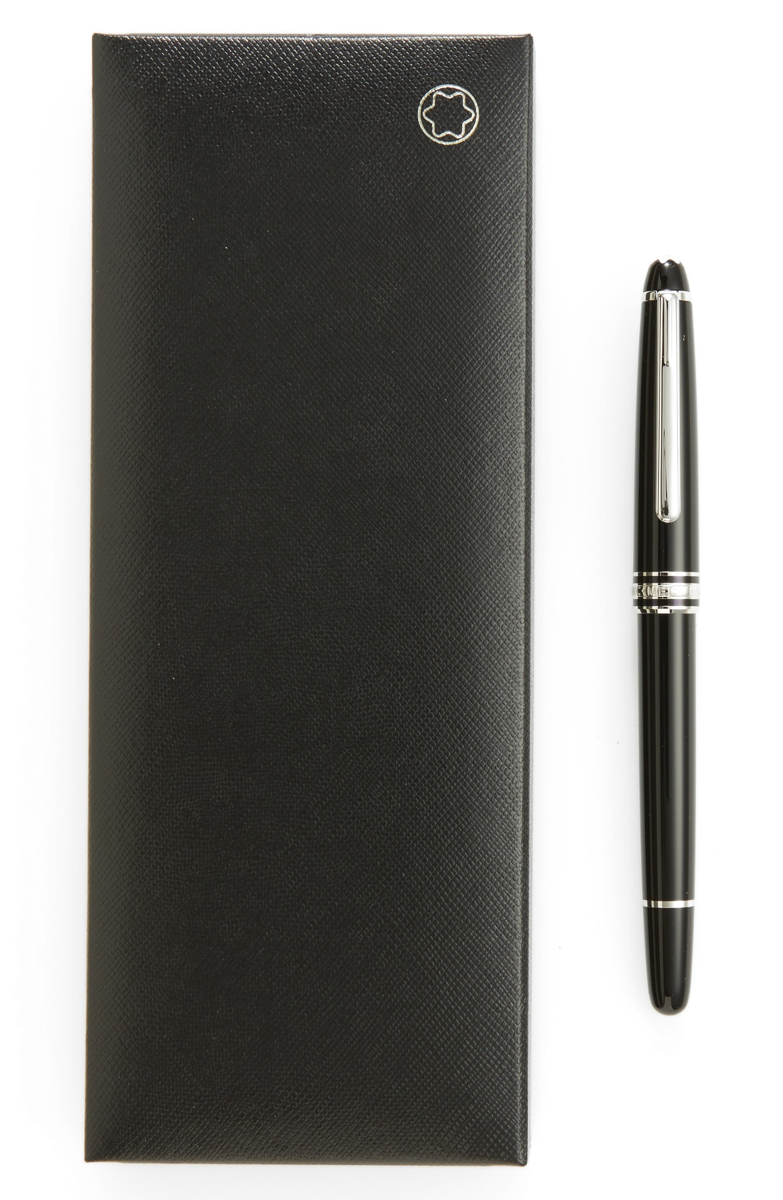 MONTBLANC Meisterstück Platinum Coated Classique Rollerball Pen