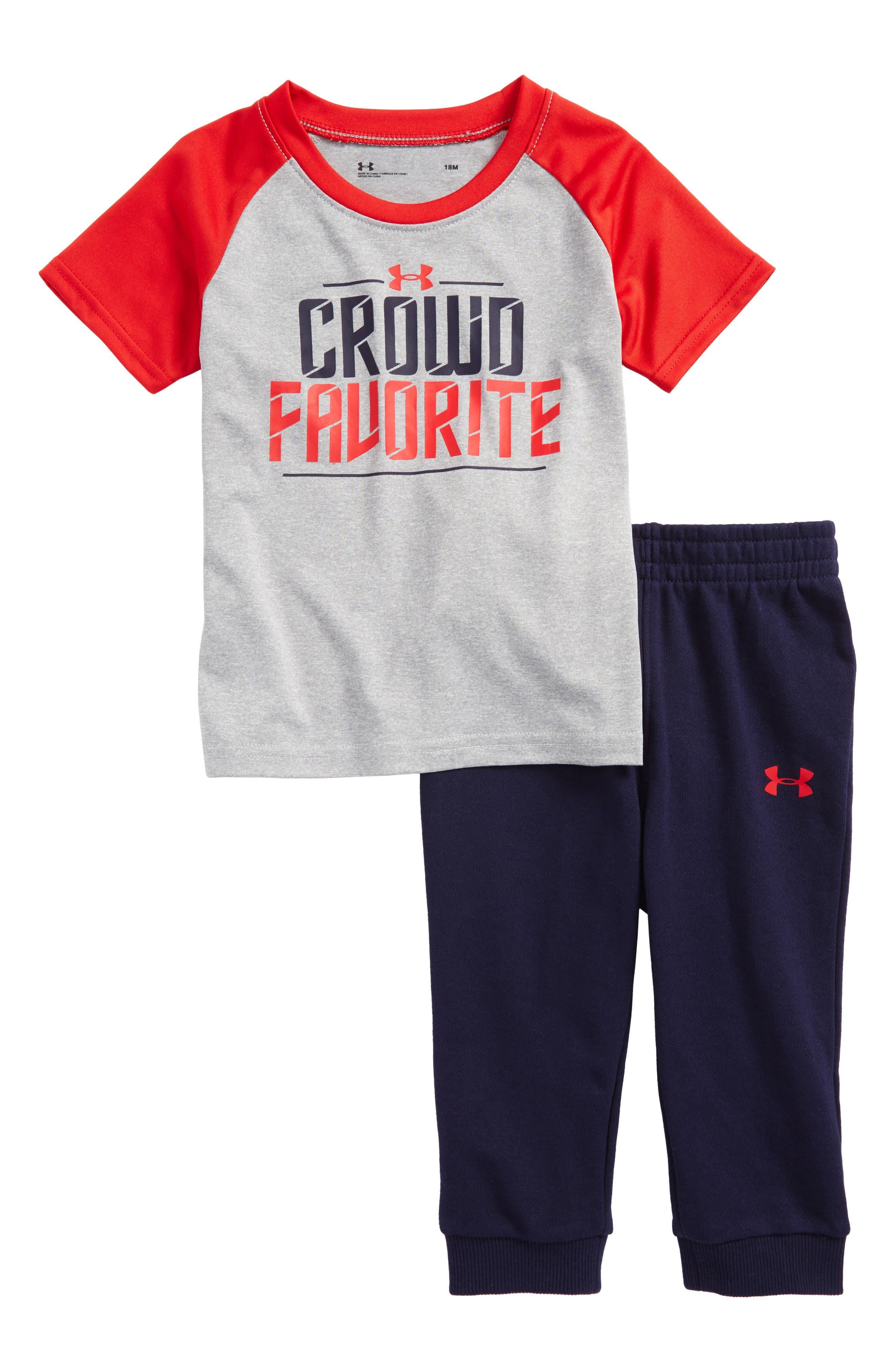 Under Armour Crowd Favorite T-Shirt & Pants Set (Baby Boys)