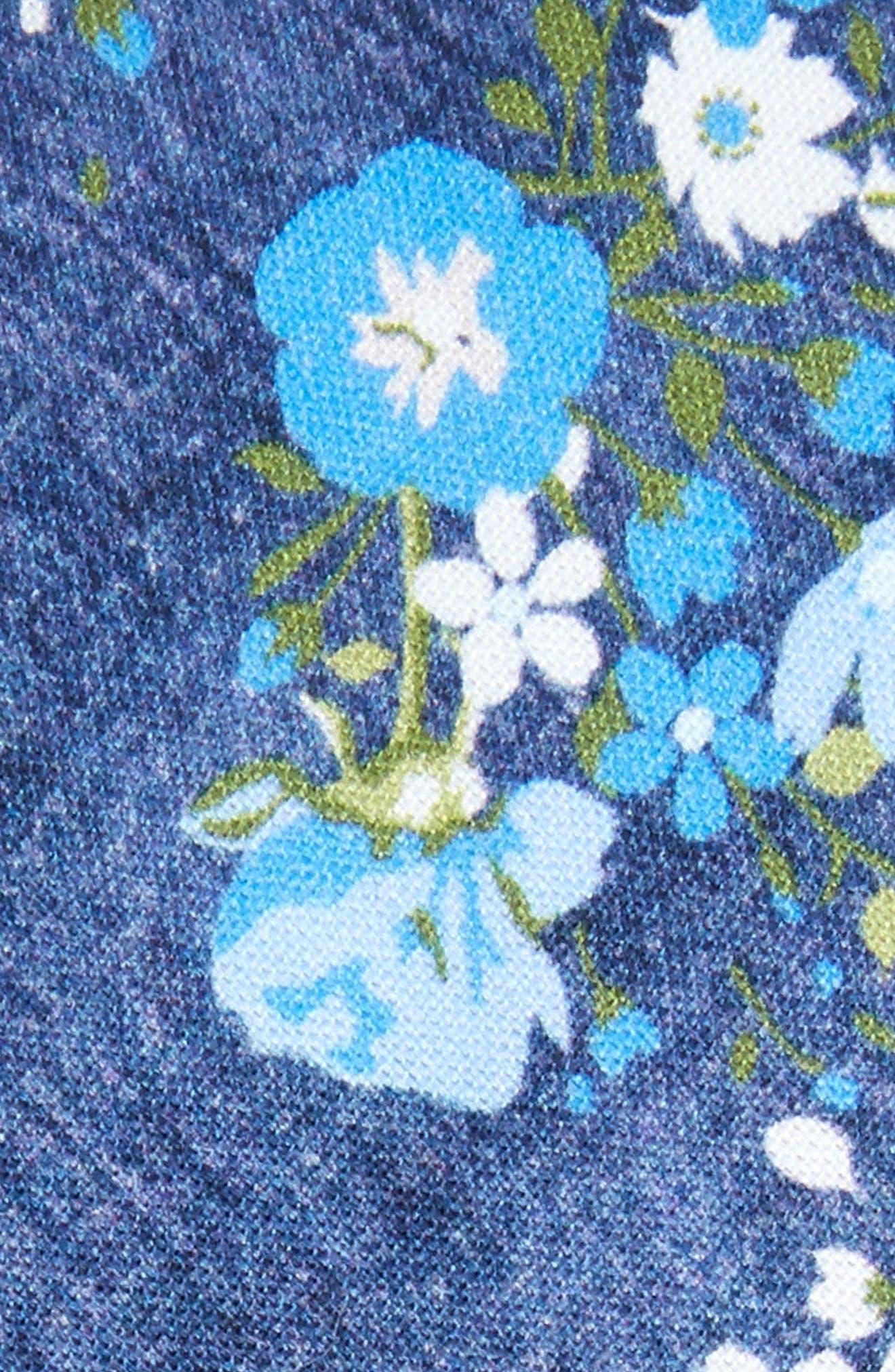 Alternate Image 2  - Nordstrom Men's Shop Morgan Floral Cotton Skinny Tie