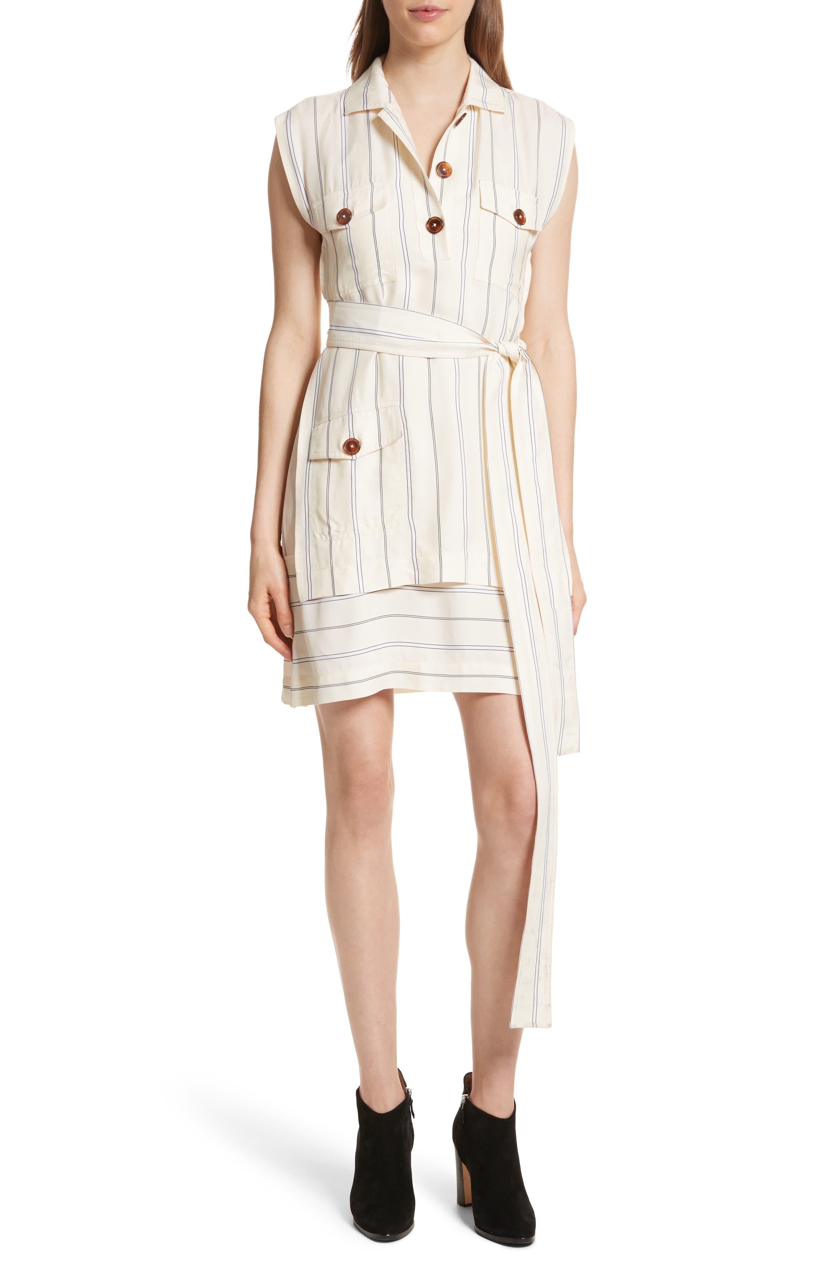 Utility Two-Piece Slipdress,                         Main,                         color, Linen