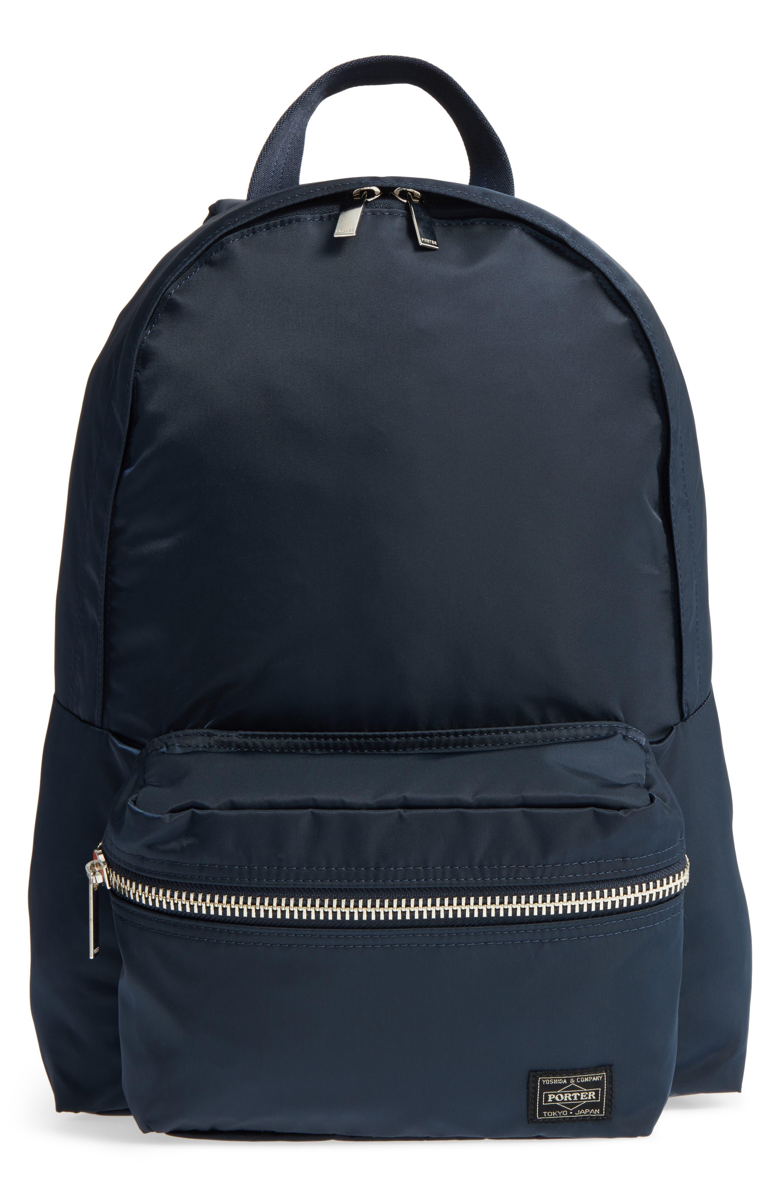 Porter-Yoshida & Co. Daily Backpack,                             Main thumbnail 1, color,                             Navy