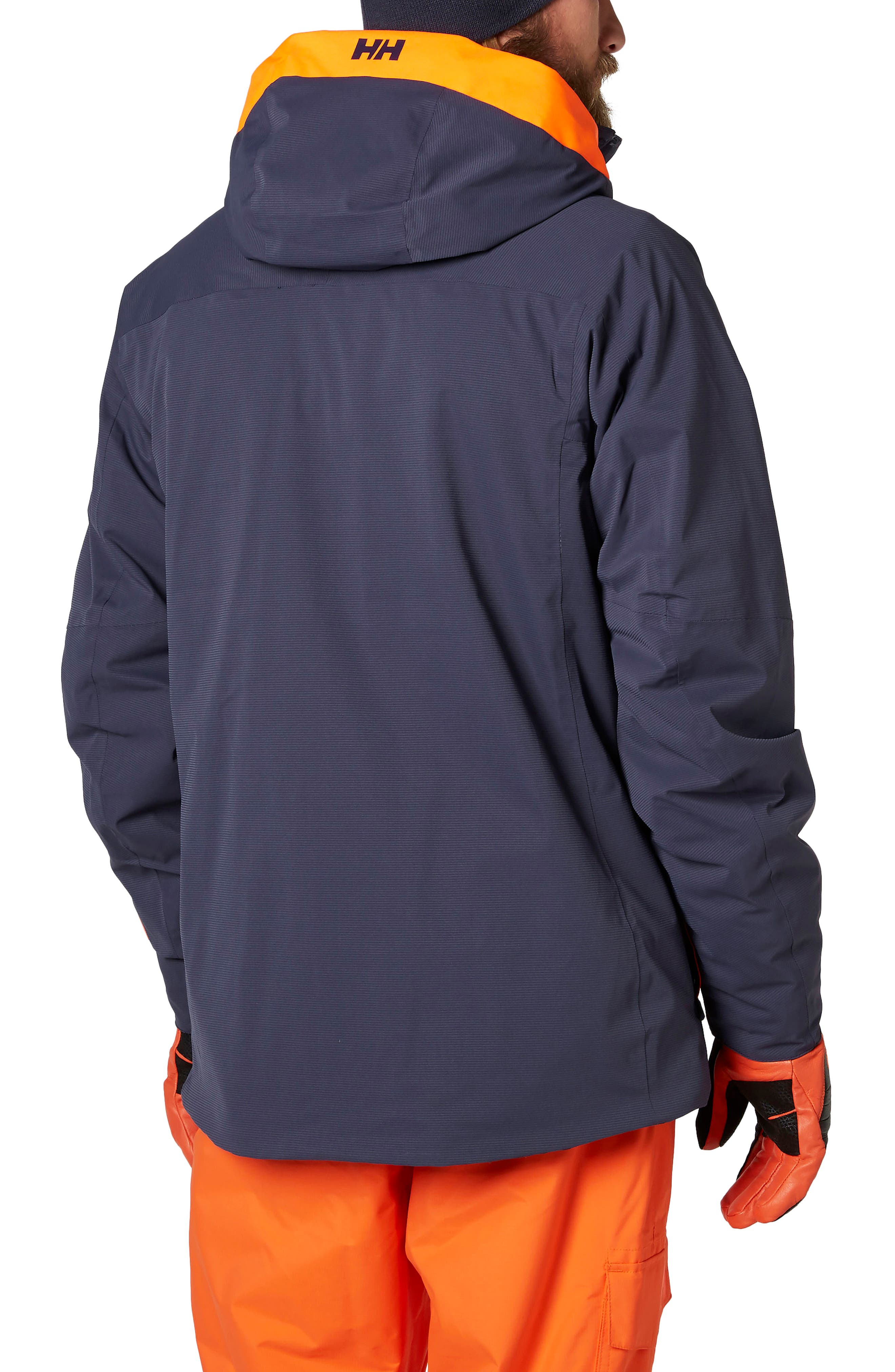 Vestland Waterproof Jacket,                             Alternate thumbnail 2, color,                             Graphite Blue