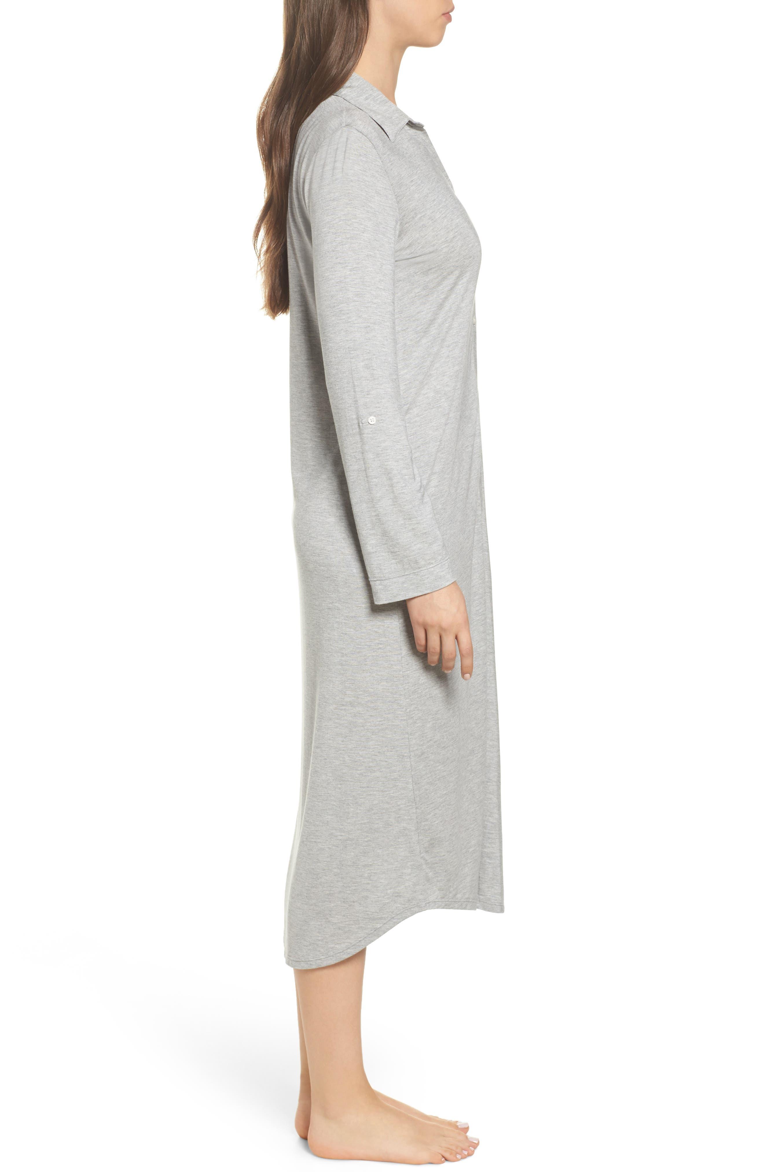 Alternate Image 3  - Lauren Ralph Lauren Ballet Jersey Sleep Shirt