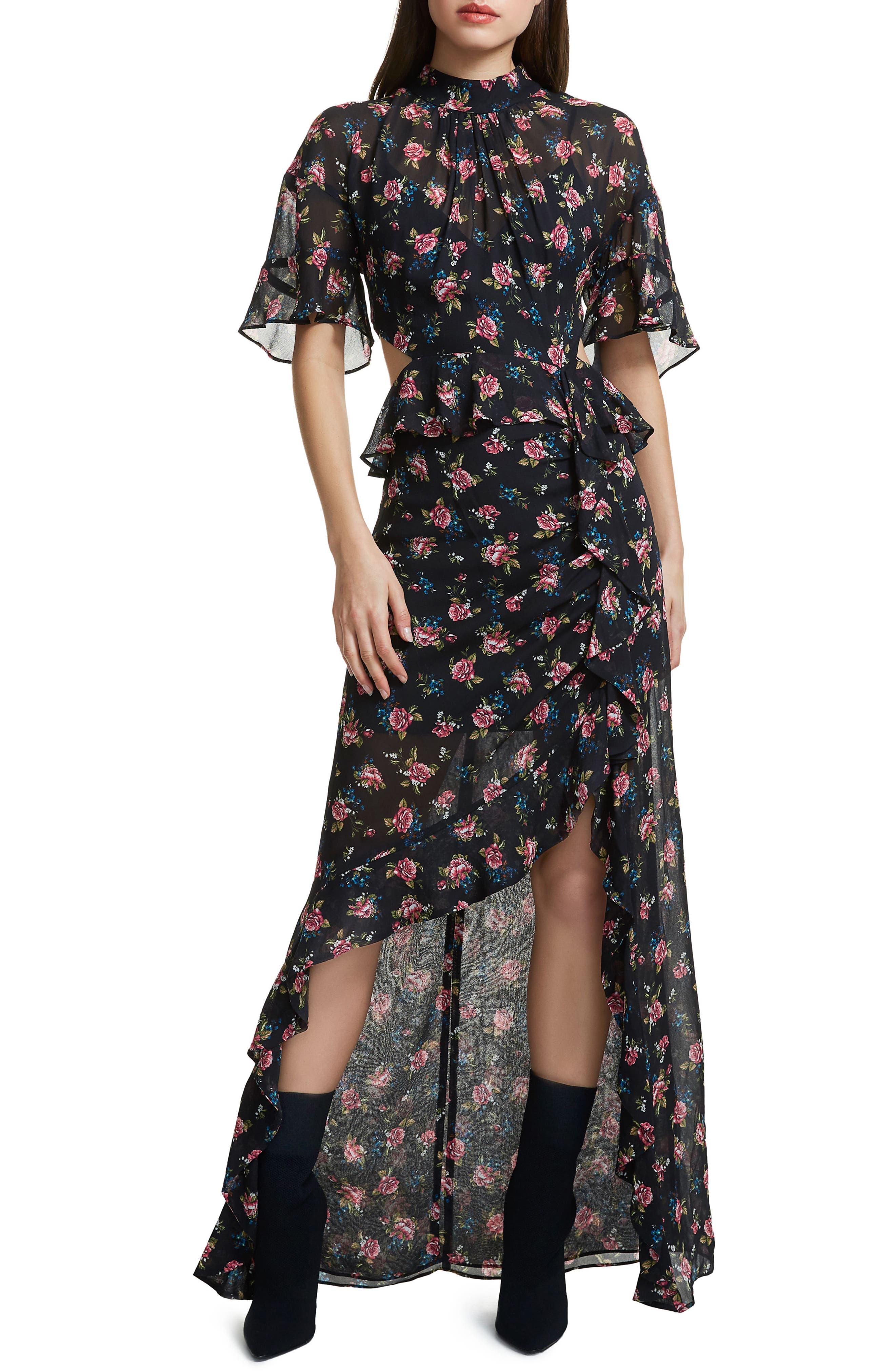 Alternate Image 1 Selected - AFRM Melsa Cutout Maxi Dress