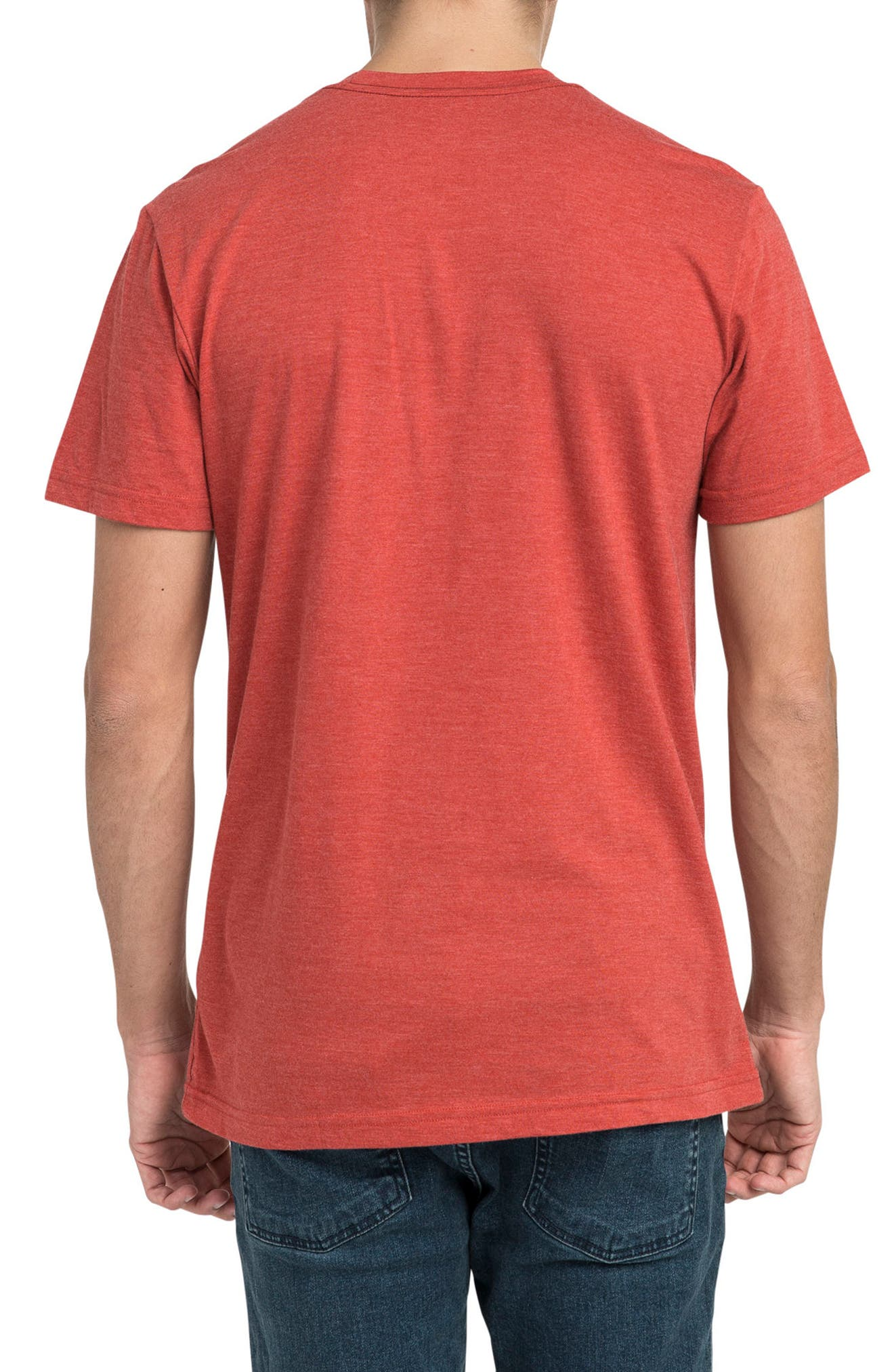 Motors Inc Logo Graphic T-Shirt,                             Alternate thumbnail 2, color,                             Pompei Red