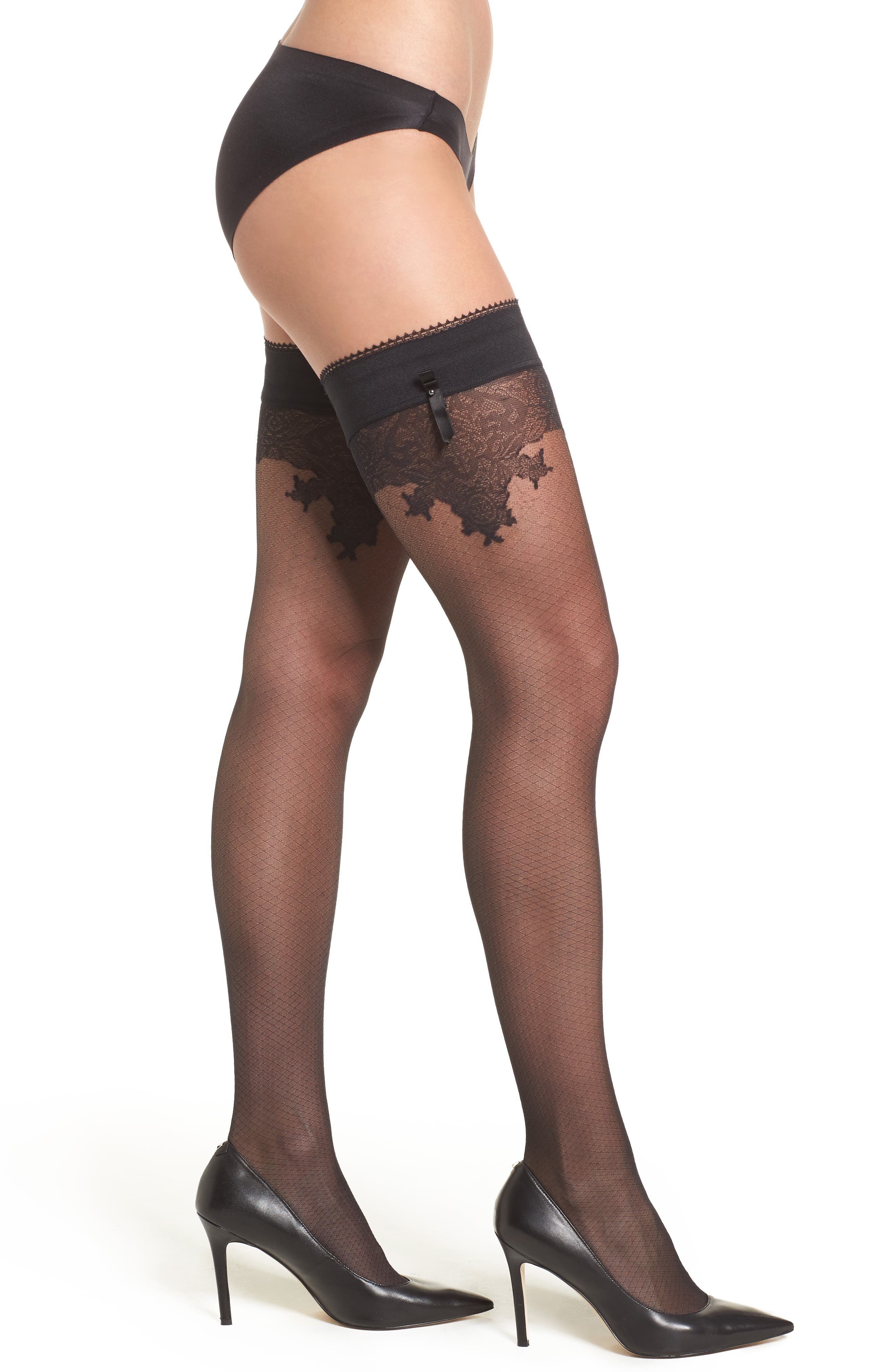 Falke Ceremonial Stay-Up Stockings