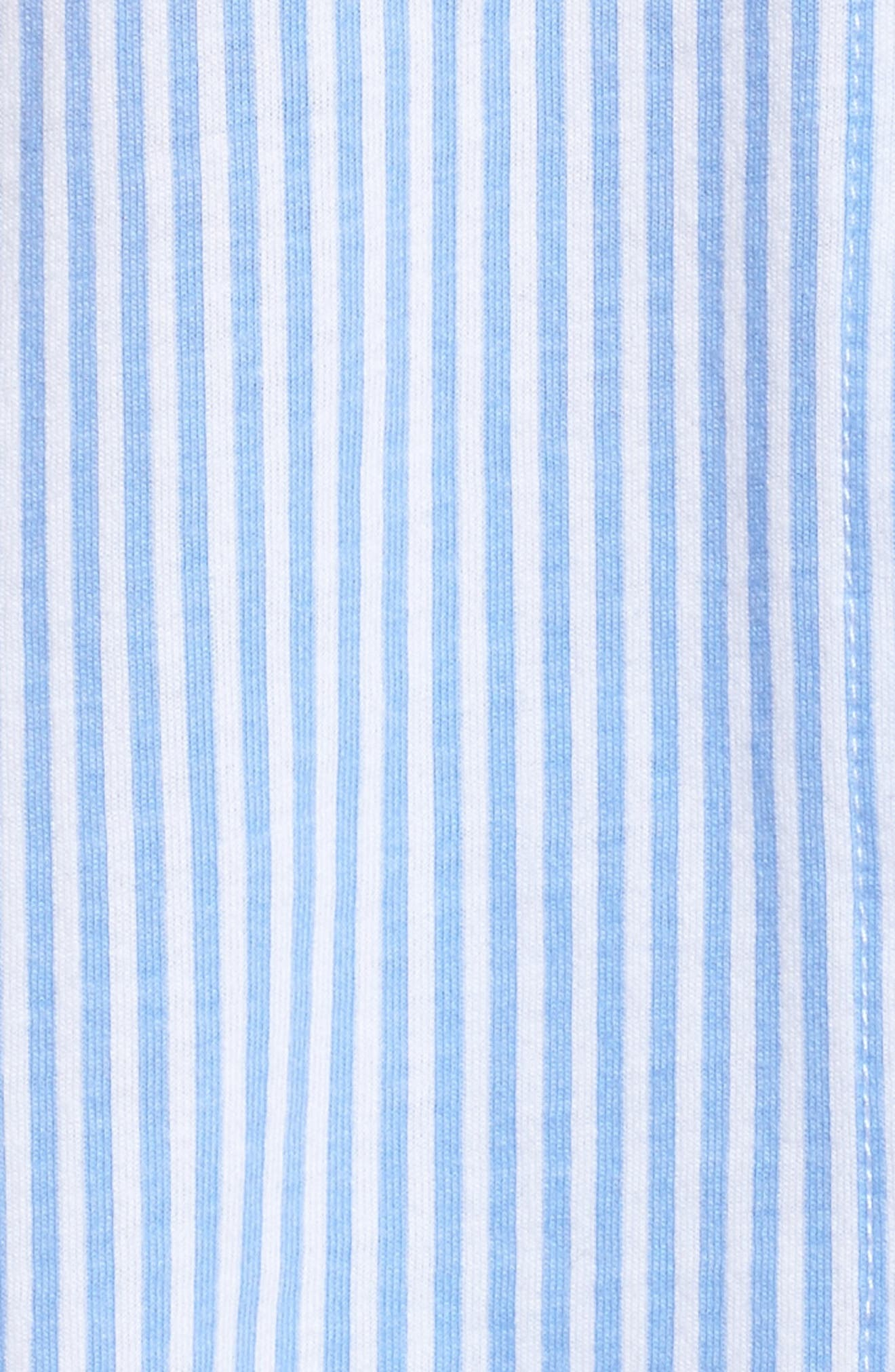 Bermuda Pajamas,                             Alternate thumbnail 5, color,                             Feather Blue Stripe