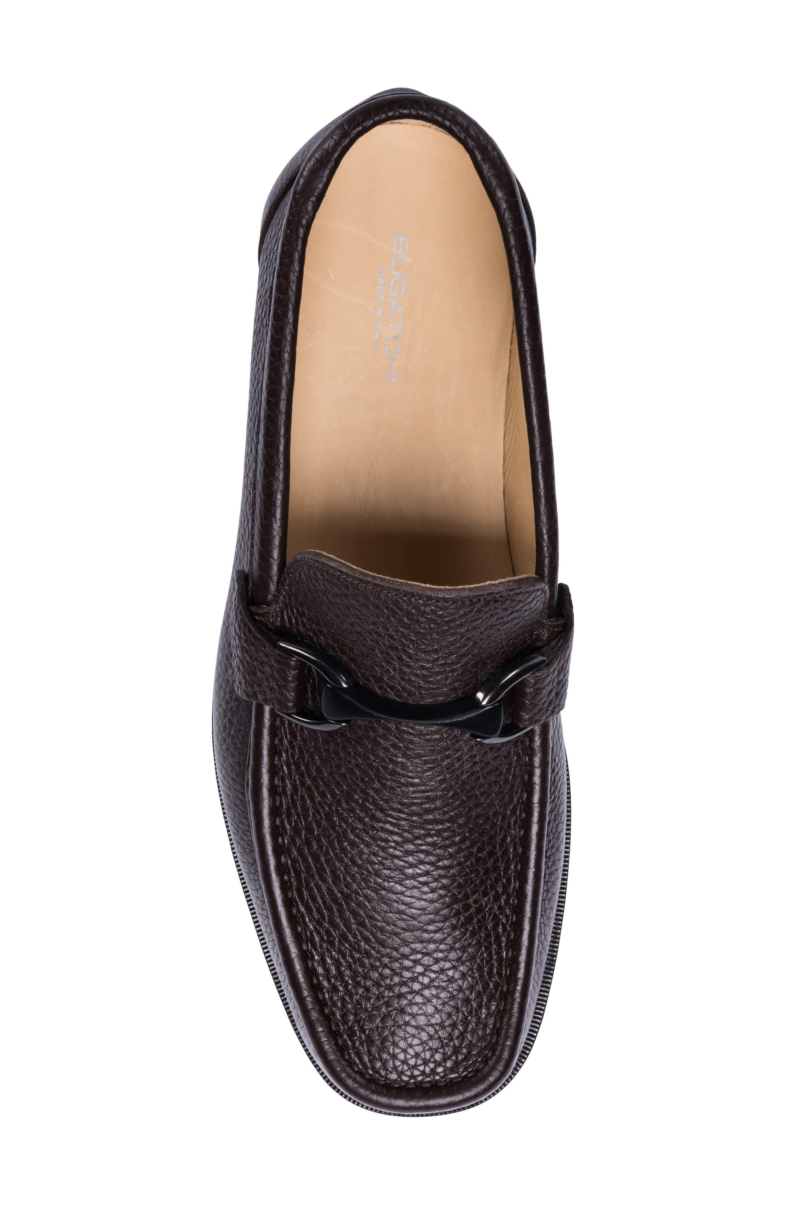 Padua Bit Loafer,                             Alternate thumbnail 5, color,                             Brown Leather