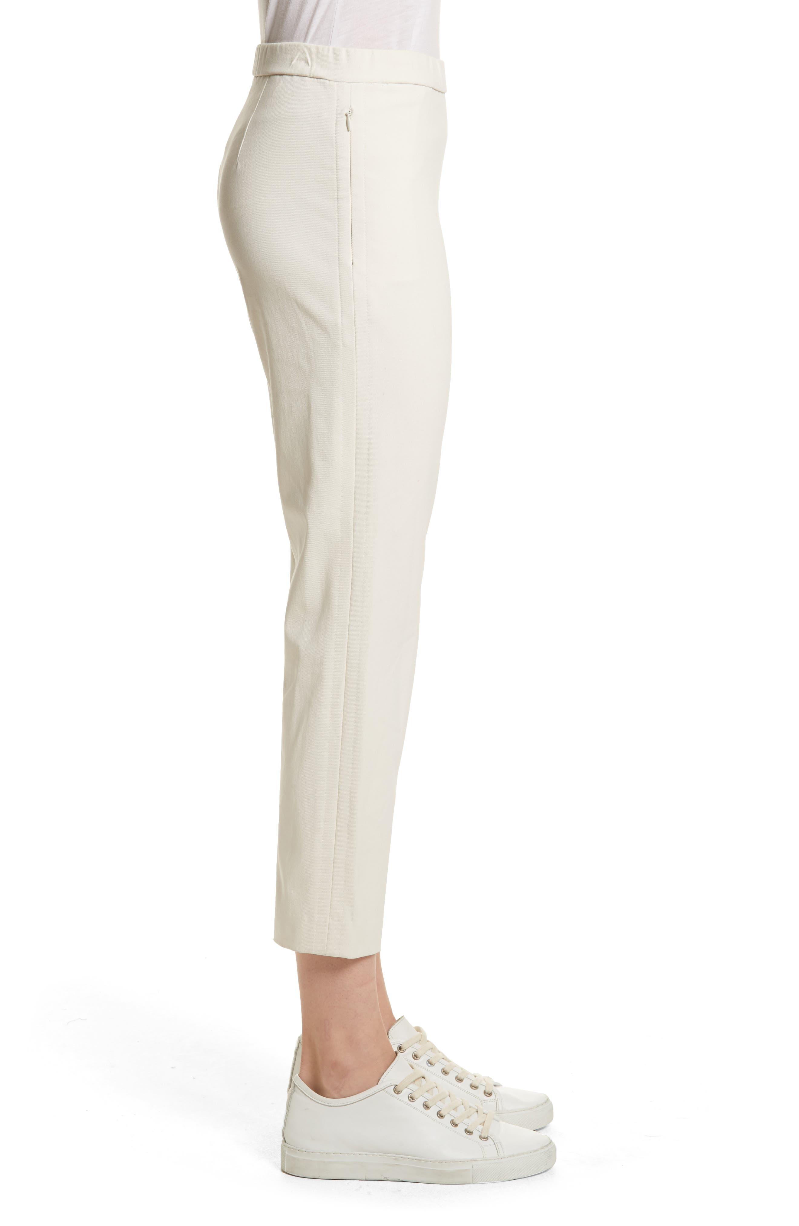 Basic Pull-On Pants,                             Alternate thumbnail 3, color,                             Ivory