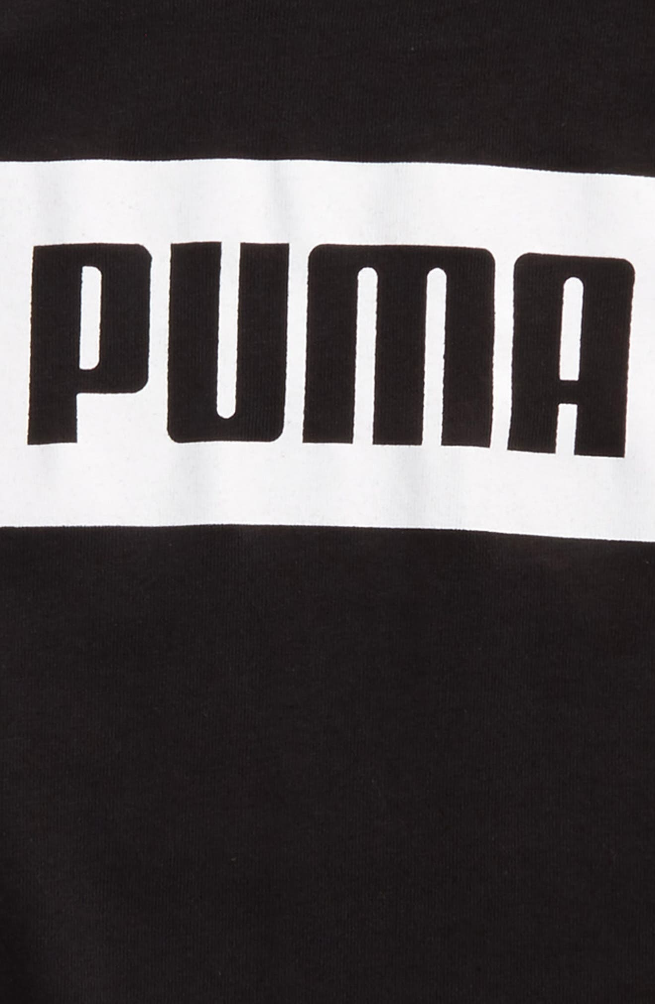 Alternate Image 2  - PUMA Rebel Graphic T-Shirt (Little Boys)