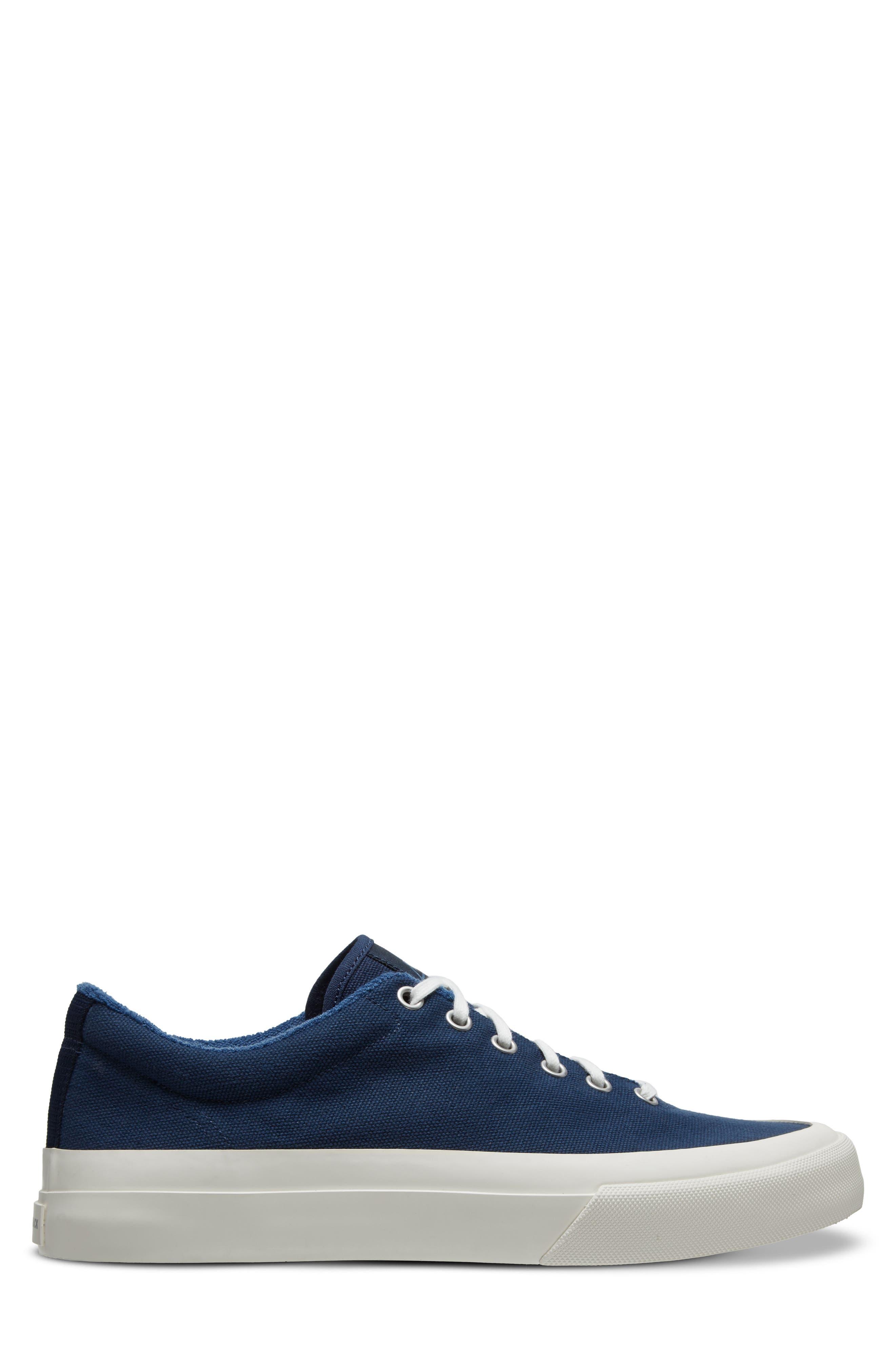 Vesta Low Top Sneaker,                             Alternate thumbnail 3, color,                             Navy