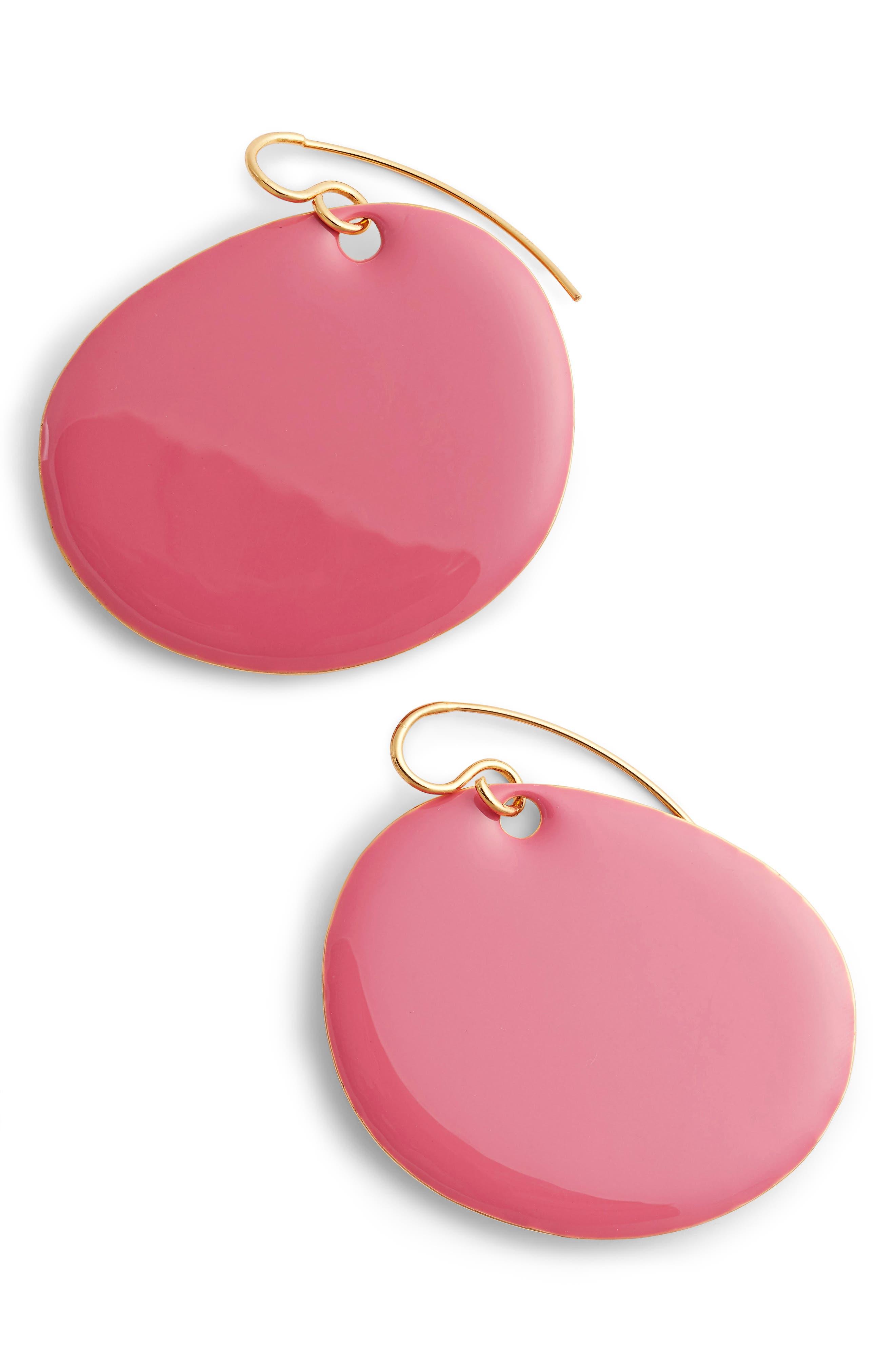 DVF Flat Disc Earrings