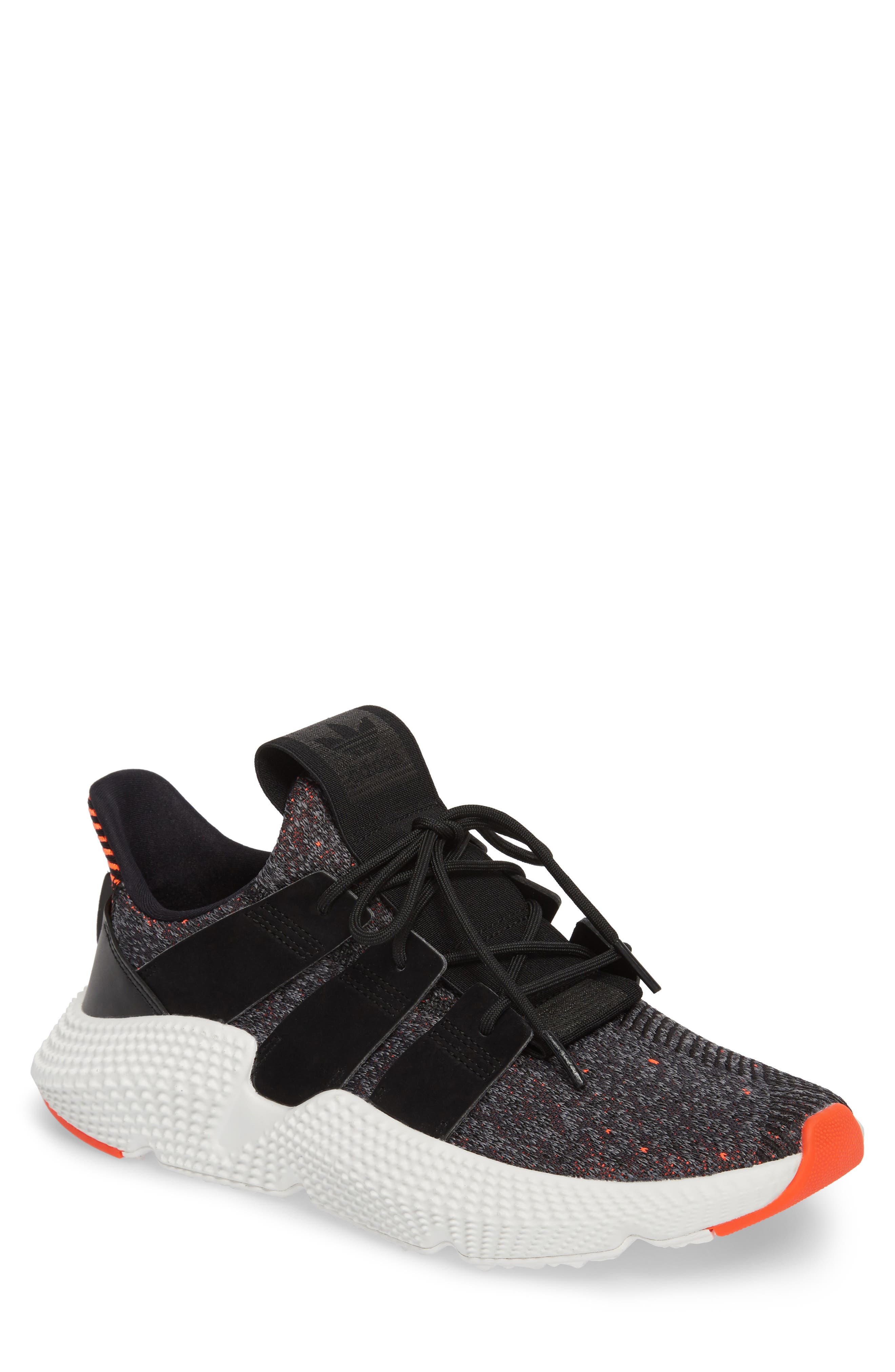 Prophere Sneaker,                             Main thumbnail 1, color,                             Black/ Solar Red