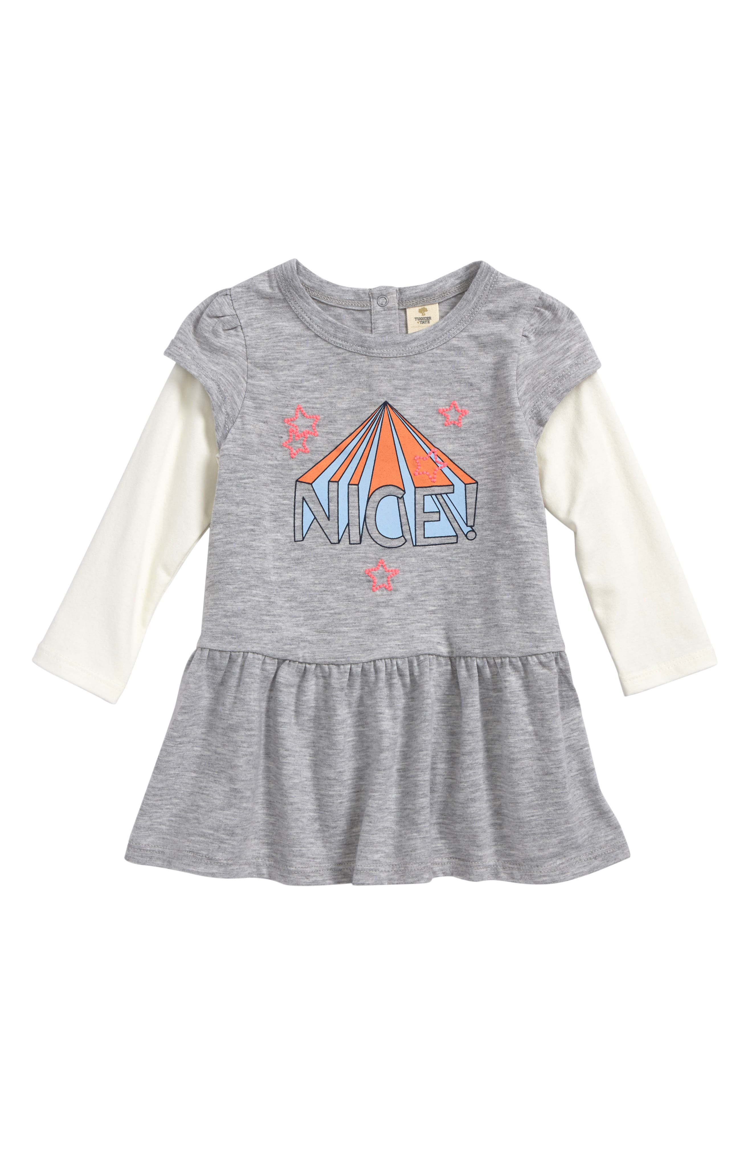 Alternate Image 1 Selected - Tucker + Tate Knit Dress (Baby Girls)