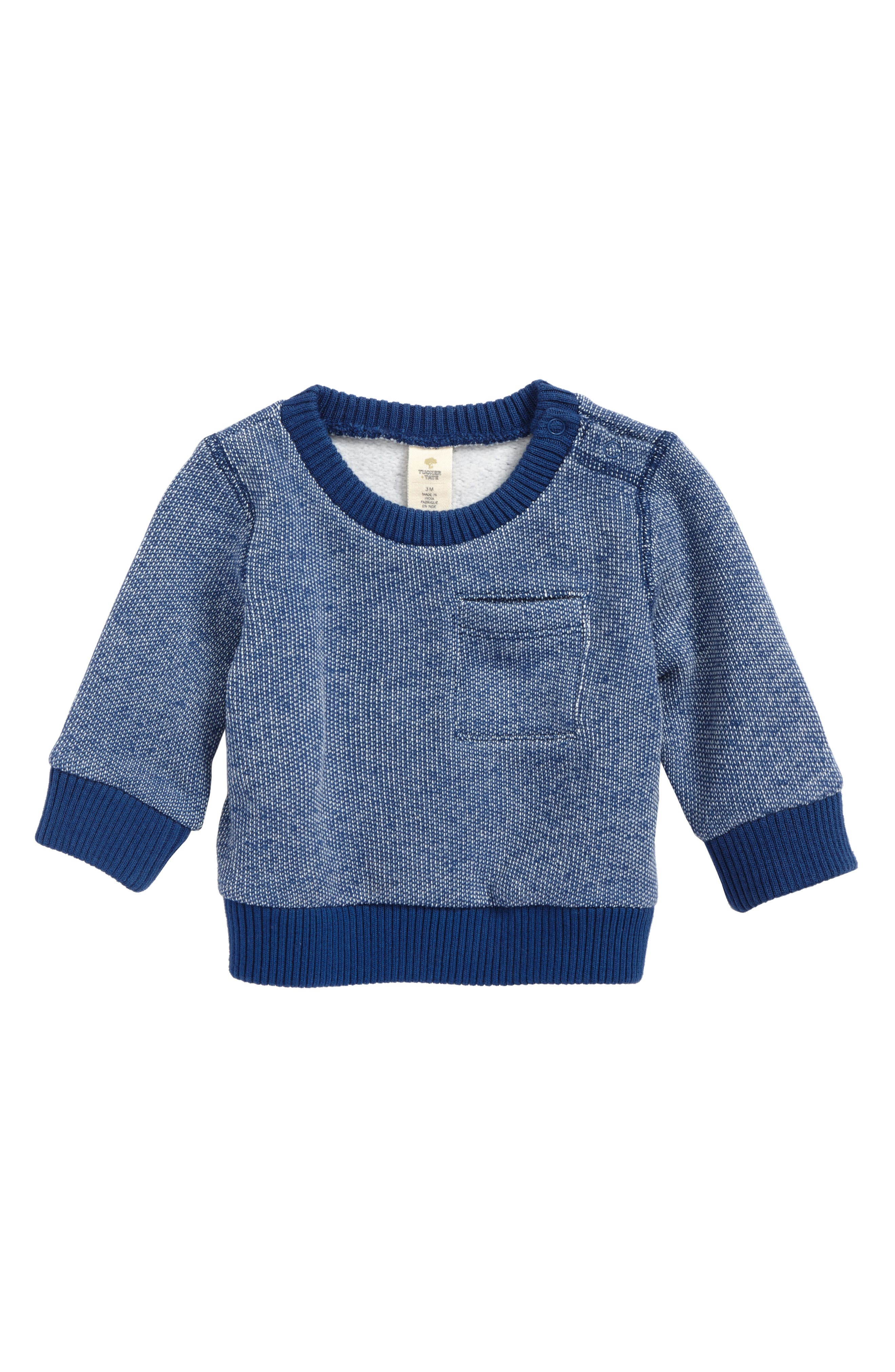 Tucker + Tate Brushed Fleece Sweatshirt (Baby Boys)