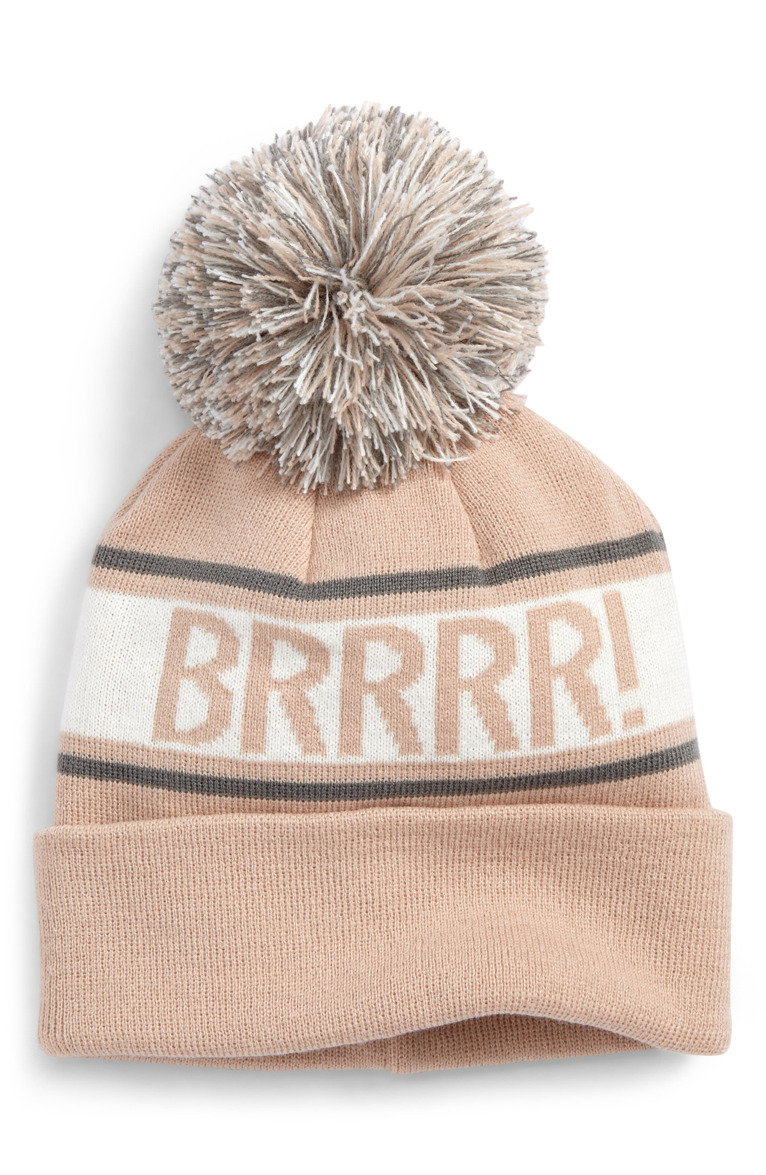 Main Image - BP. Verbiage Fair Isle Beanie