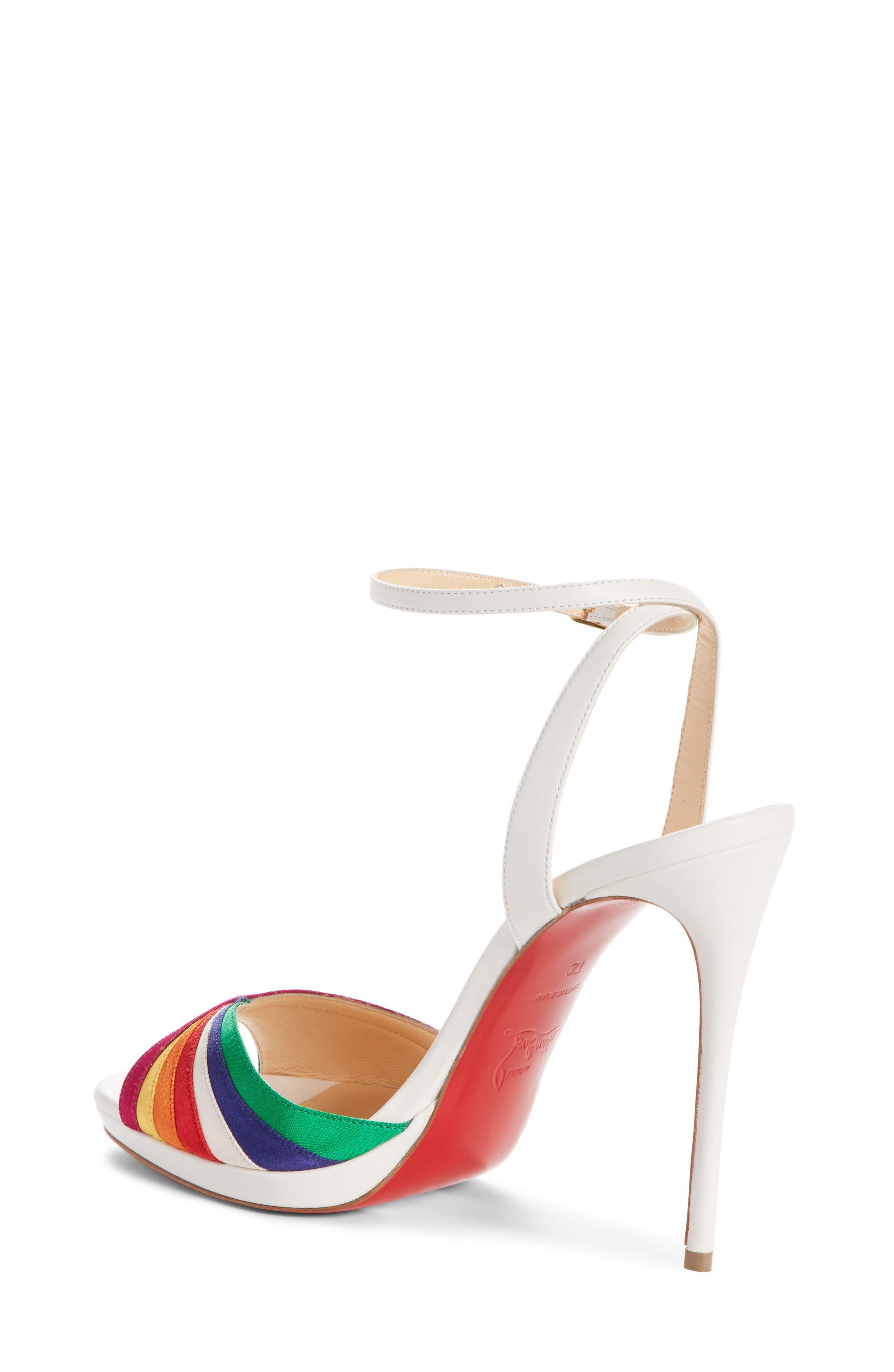 Naseeba Sandal,                             Alternate thumbnail 2, color,                             Latte/ Multicolor