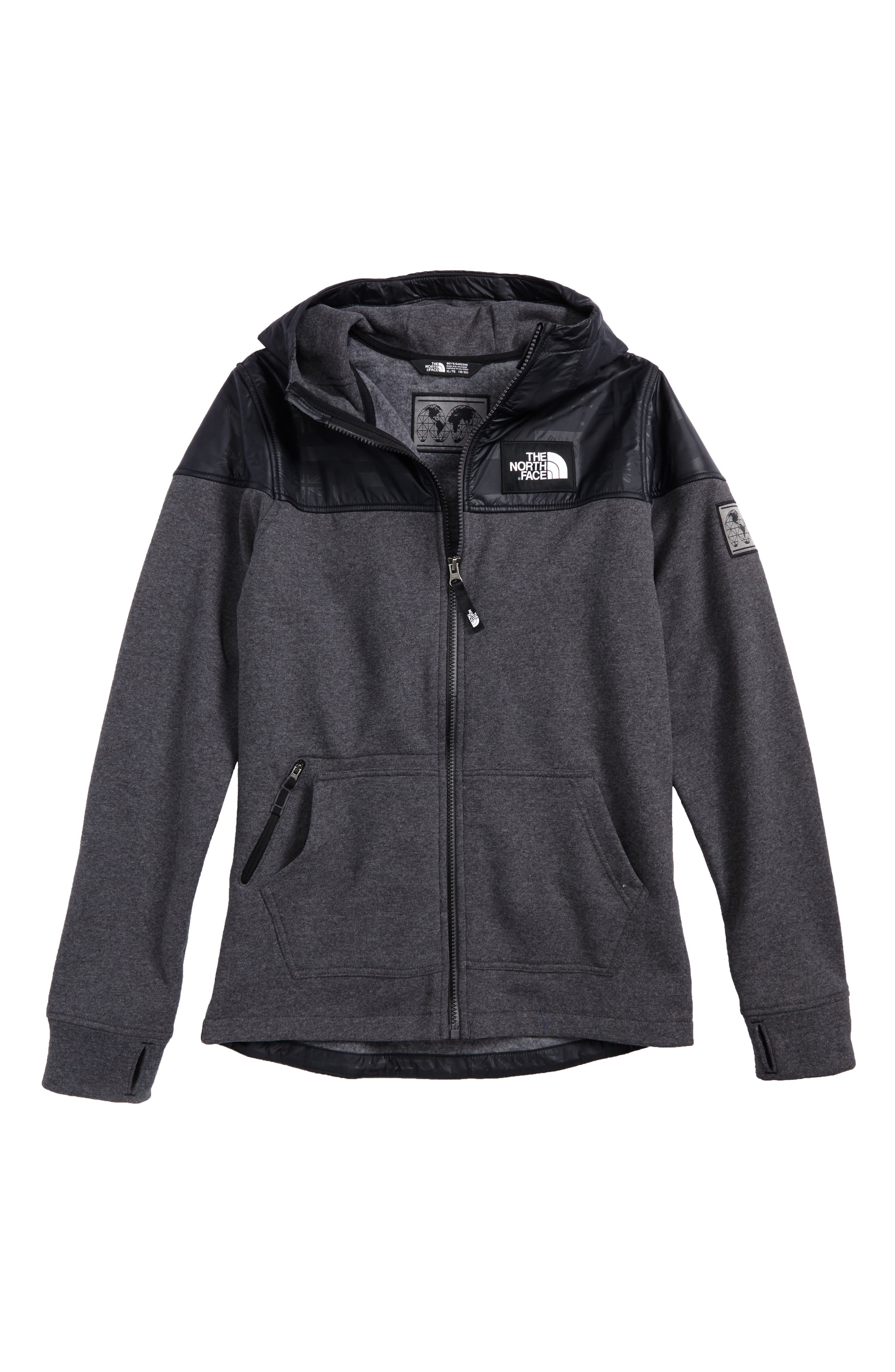 Main Image - The North Face International Collection Zip Hoodie (Little Boys & Big Boys)