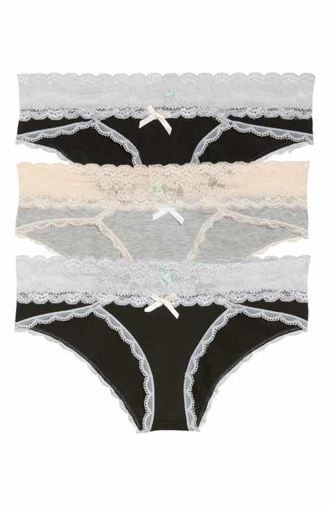 13da60b4736 Honeydew Intimates Ahna 3-Pack Hipster Panties