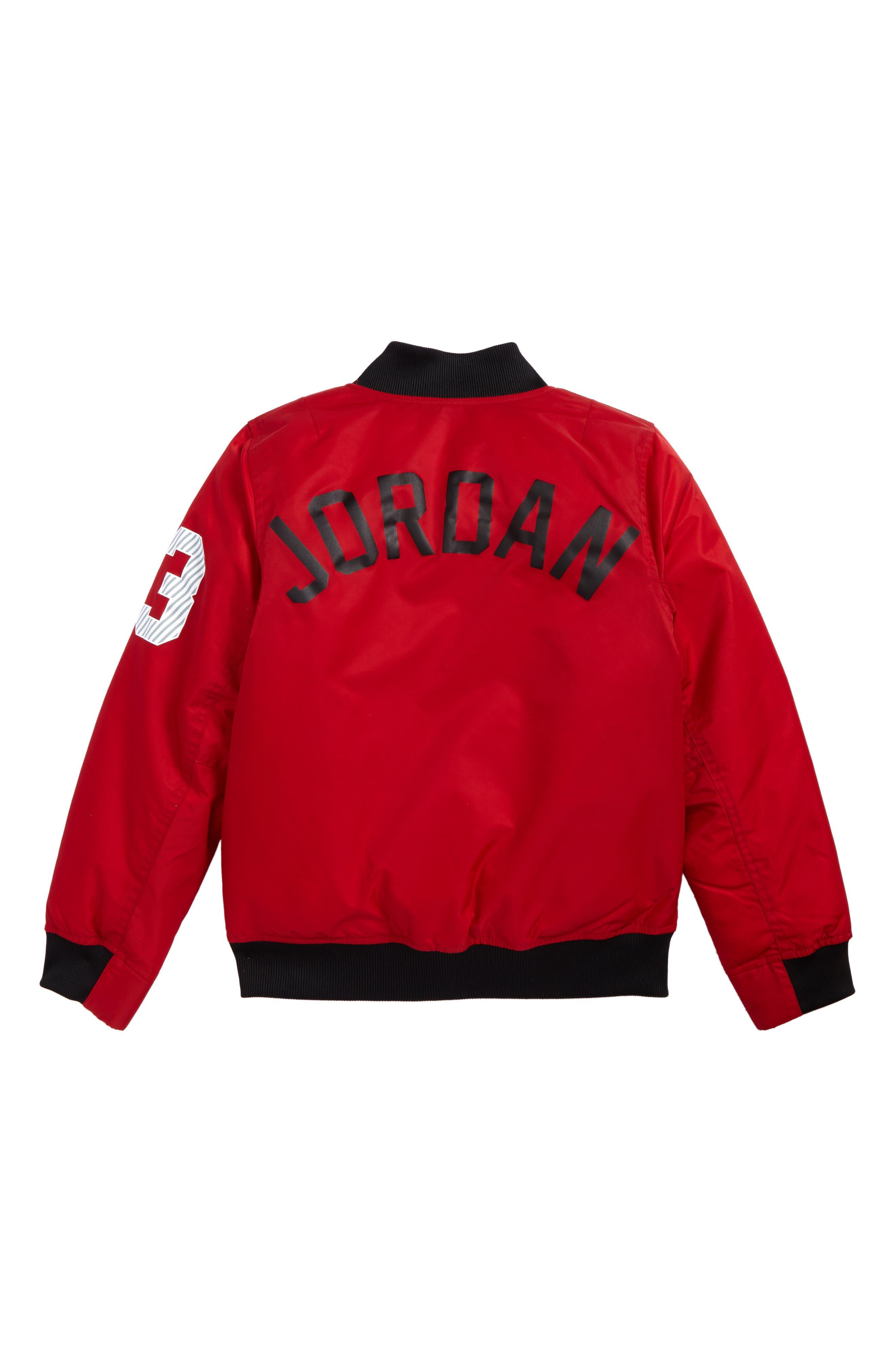 Jordan Fall in Line Jacket,                             Alternate thumbnail 2, color,                             Gym Red
