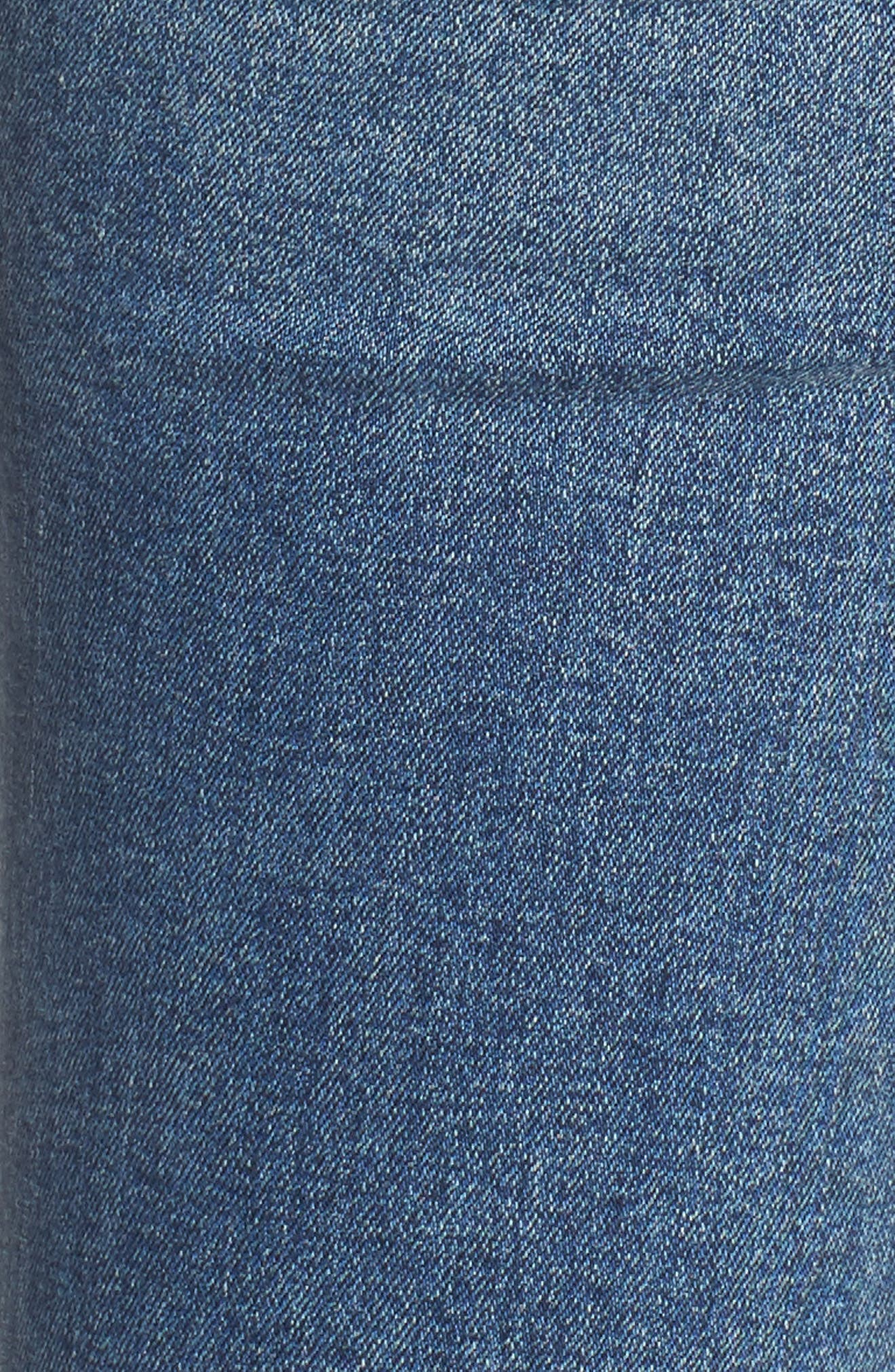 Rocket Crop Skinny Jeans,                             Alternate thumbnail 6, color,                             Orbit
