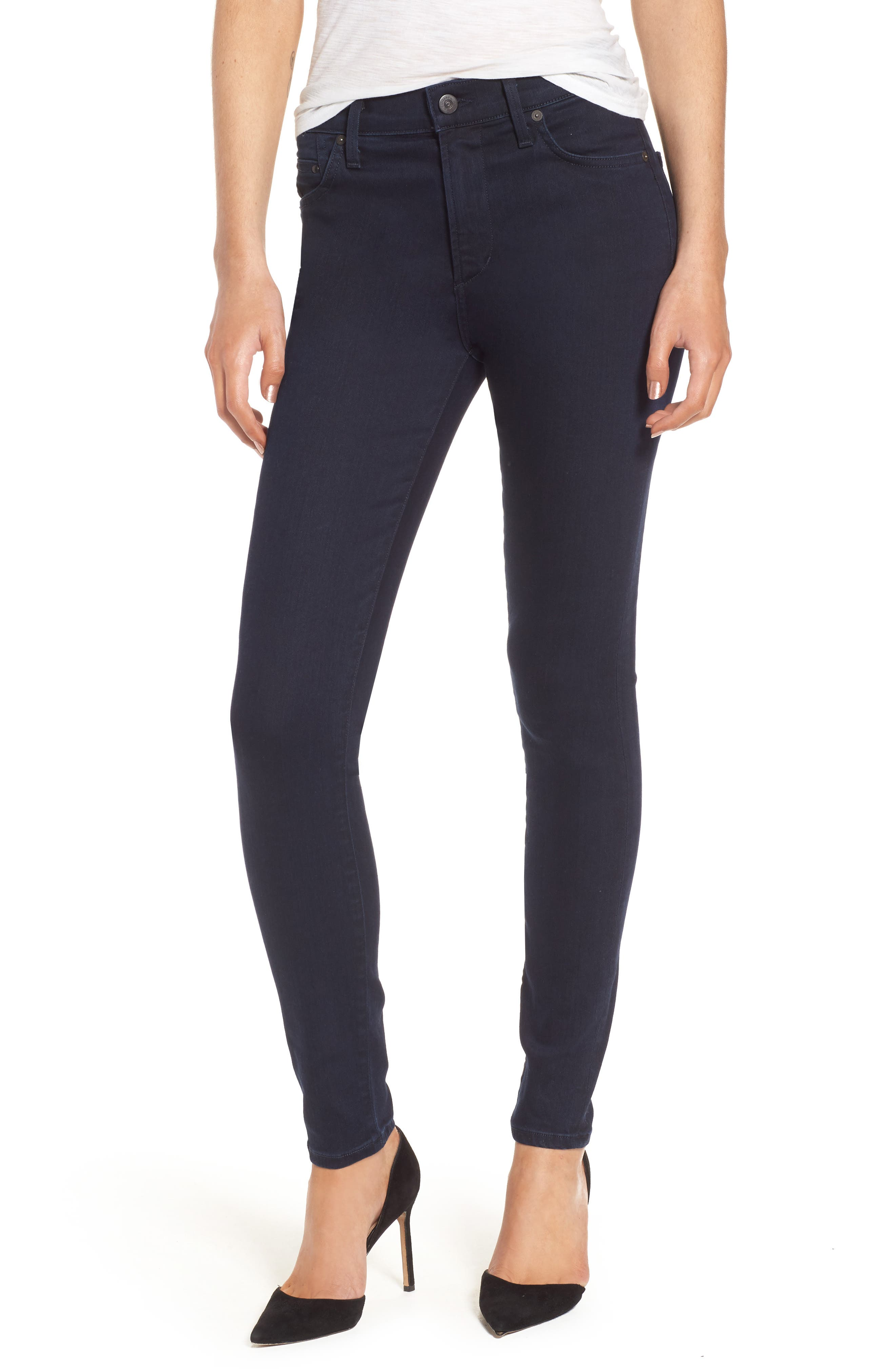 Citizens of Humanity Rocket High Waist Skinny Jeans (Ozone Ink)