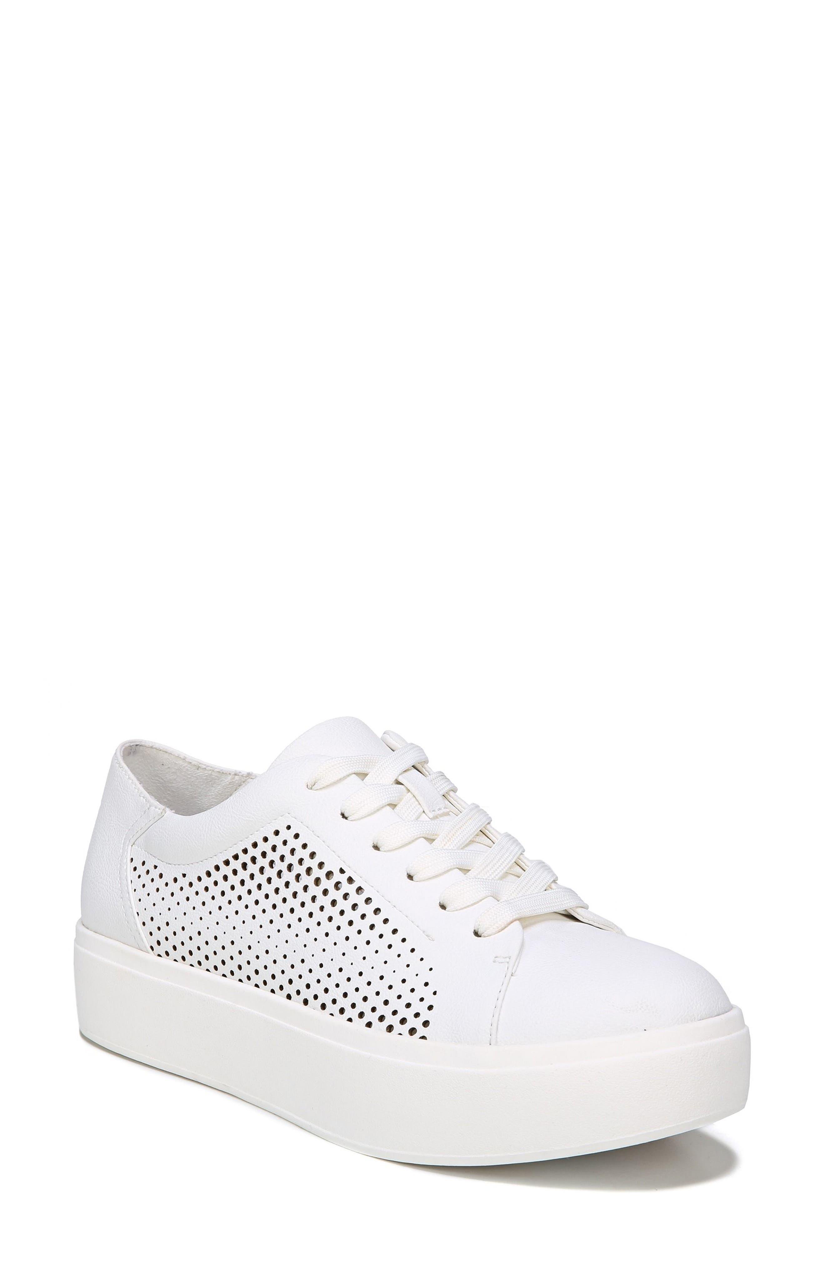 Kinney Platform Sneaker,                         Main,                         color, White
